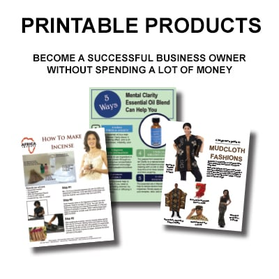 Printable Products
