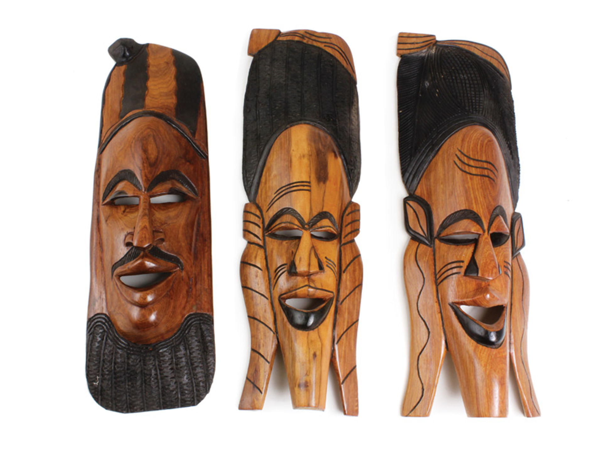 """Picture of Senegalese Mahogany Mask 21-24"""""""