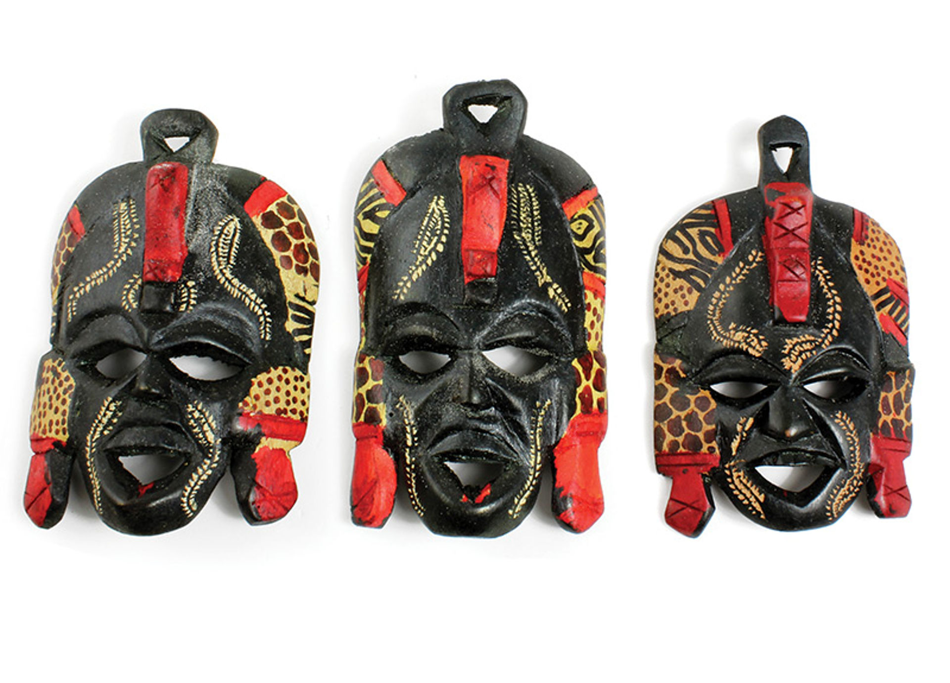 """Picture of 5-6"""" Maasai Mask"""