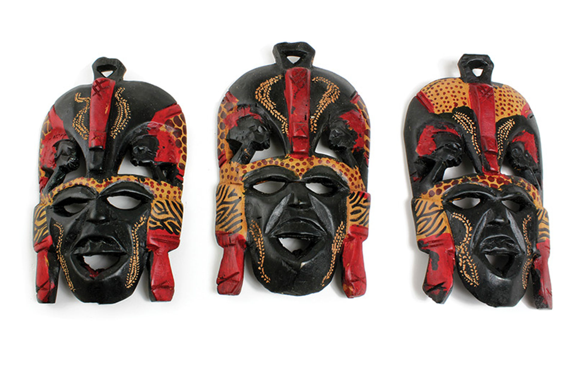 "Picture of 7-8"" Maasai Mask"