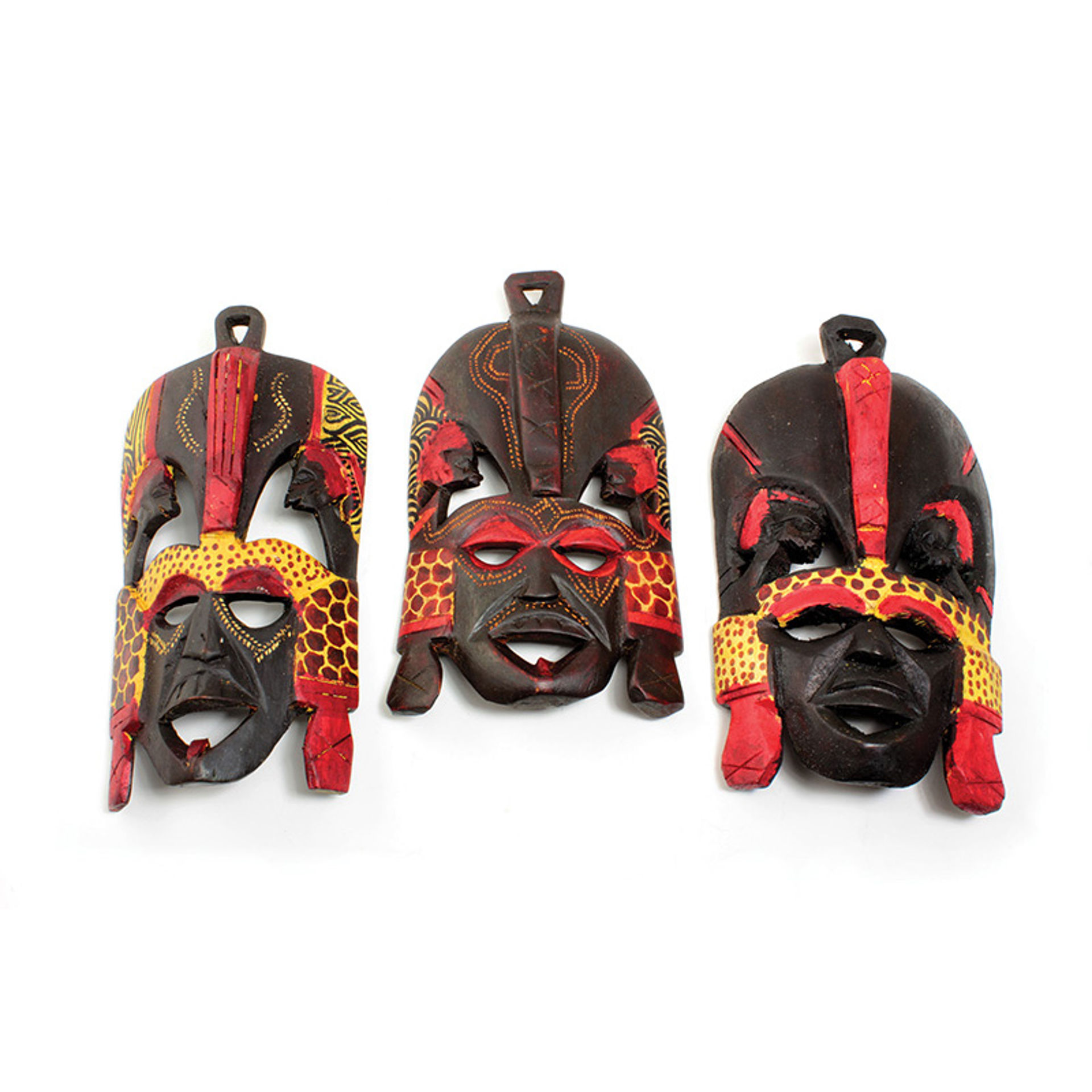 "Picture of 9-10"" Maasai Mask"