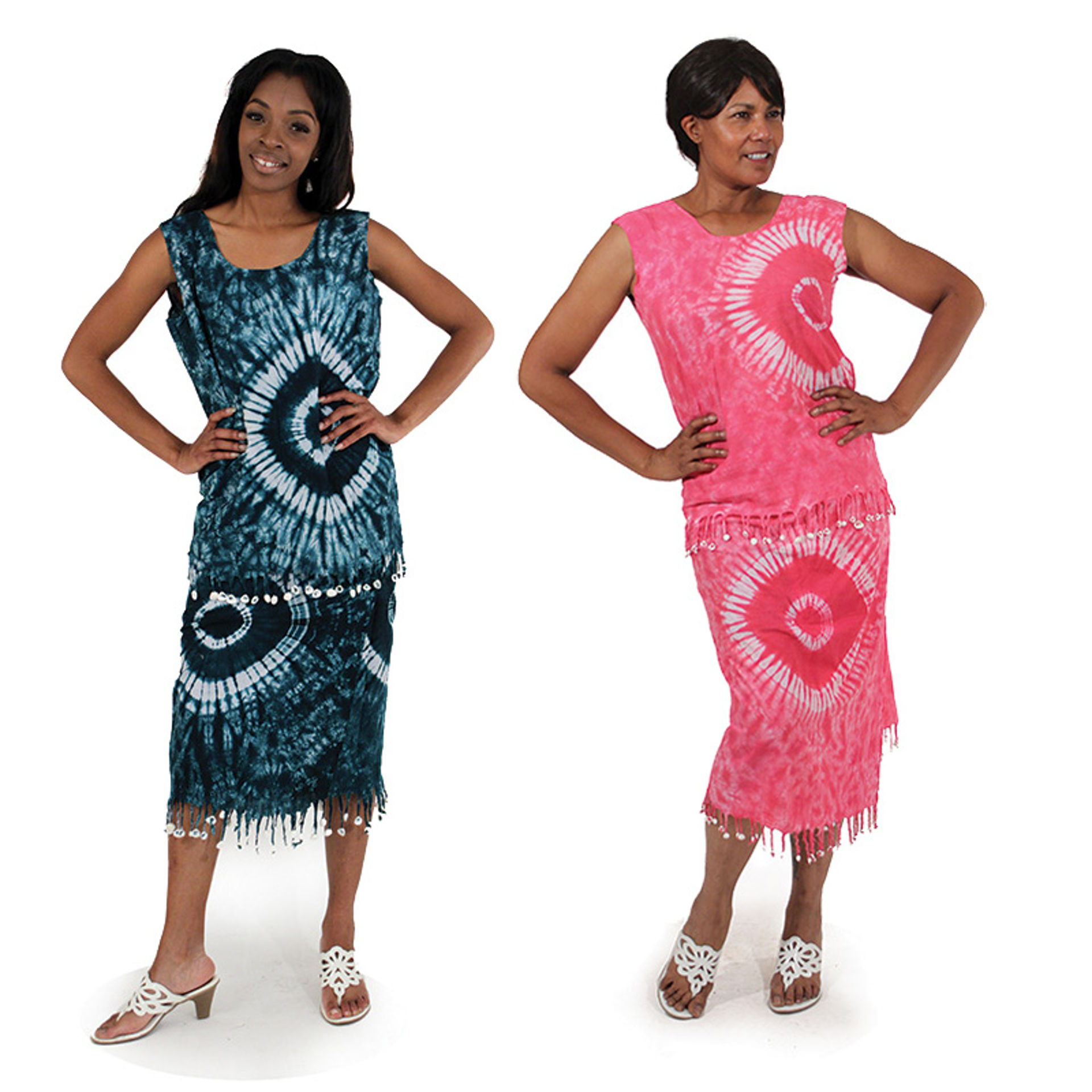 Picture of Gambian Tie-Dye Skirt Set