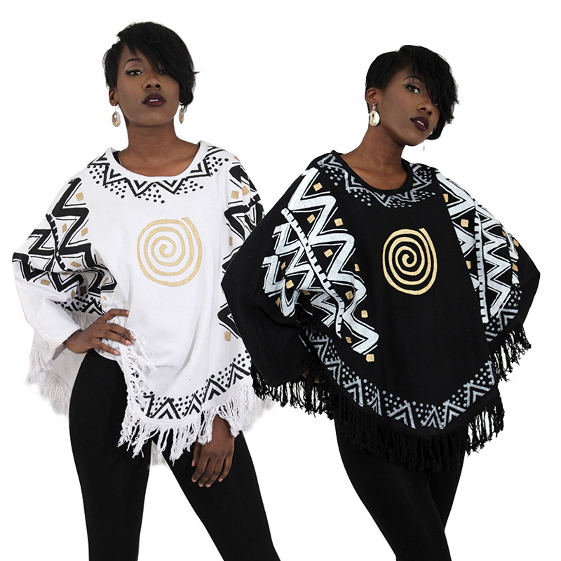 Picture of Heavy Cloth Ethnic Print Dashiki