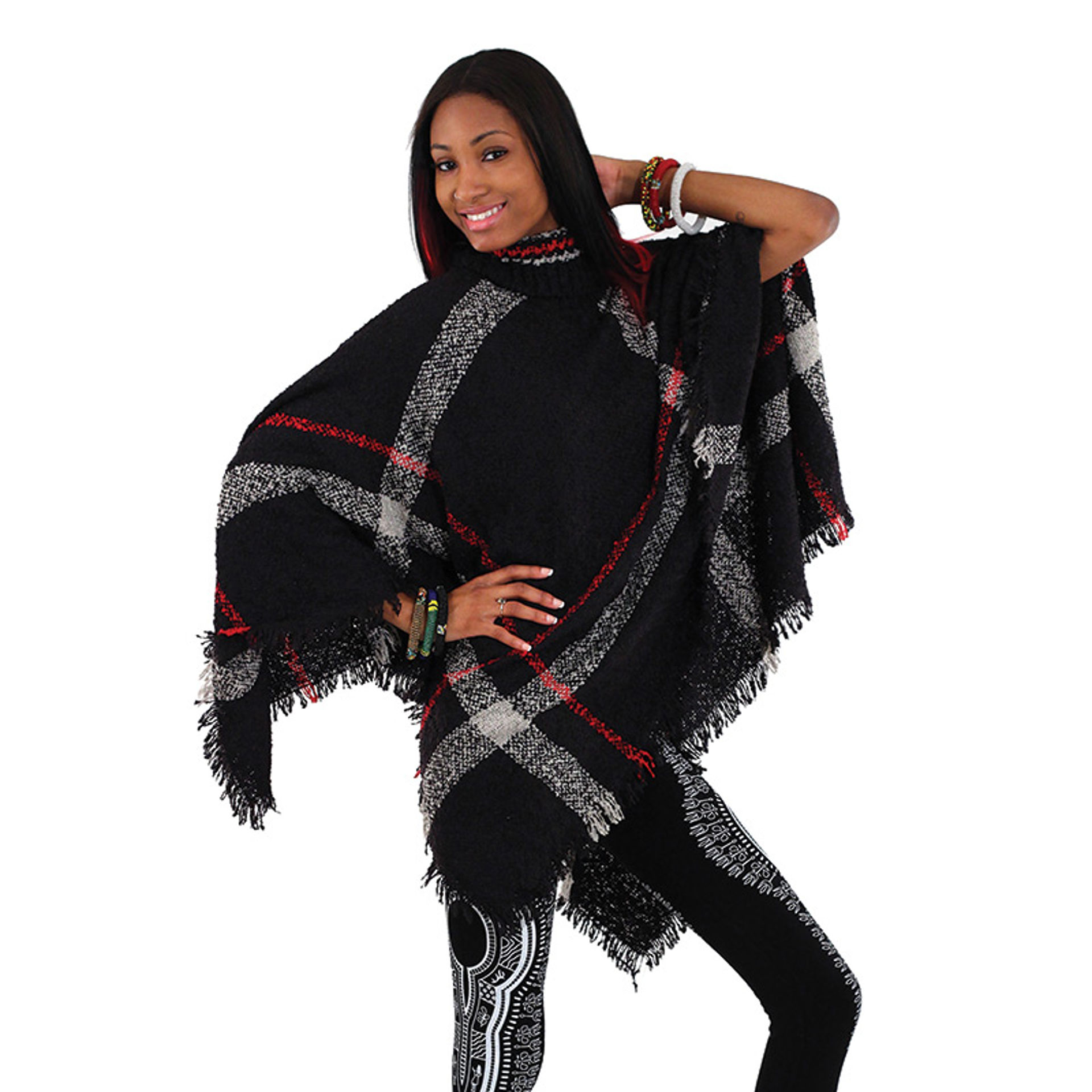 Picture of Turtle Neck Poncho