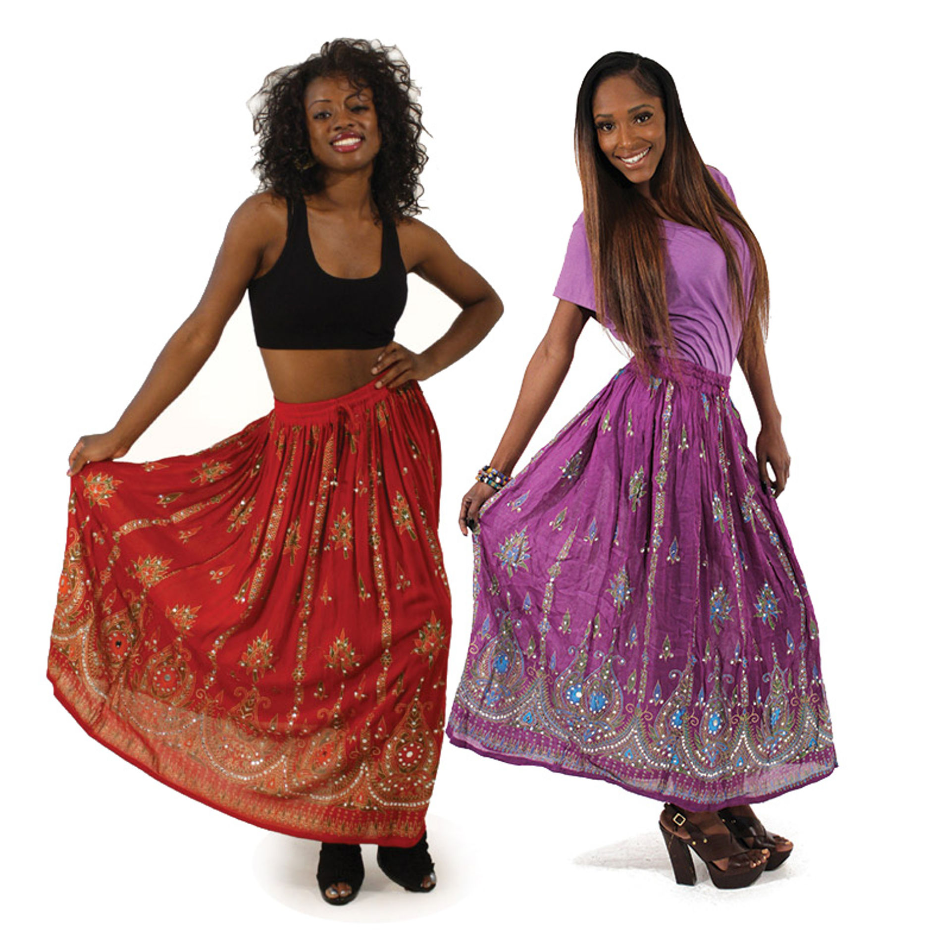 Picture of Beaded Long Skirt