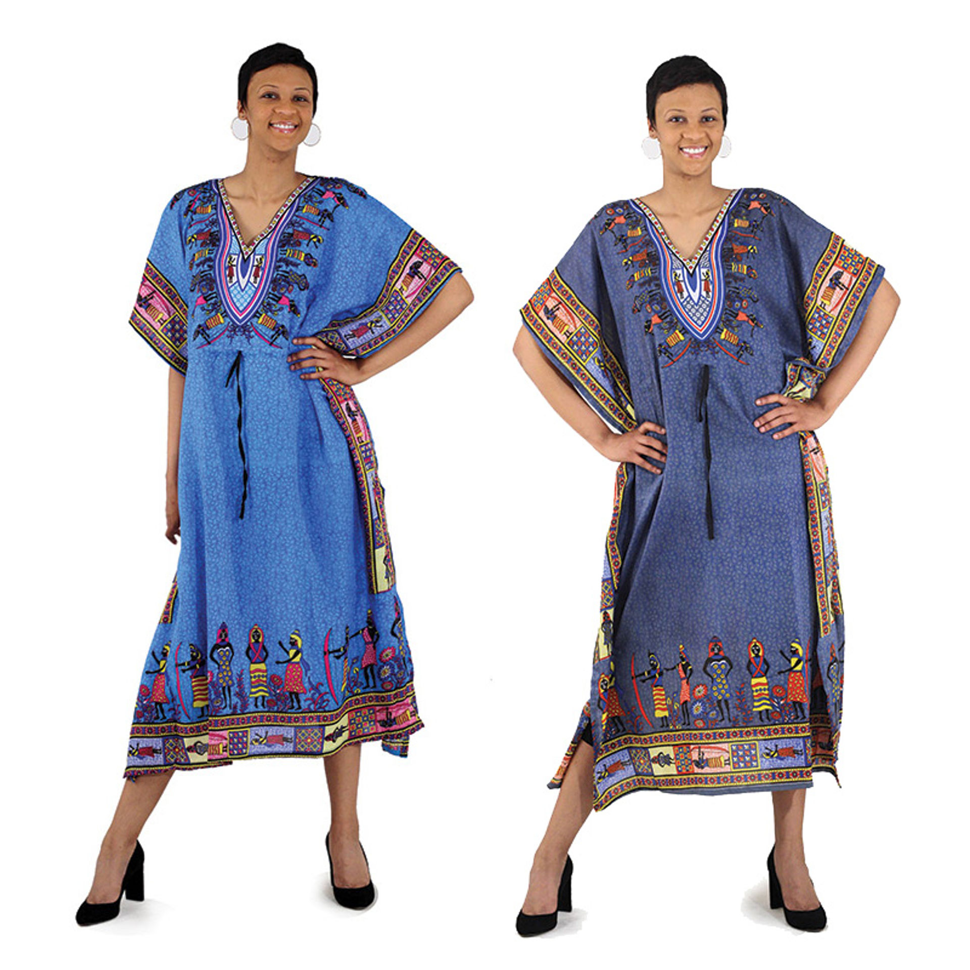 Picture of Draw-String African Woman Kaftan