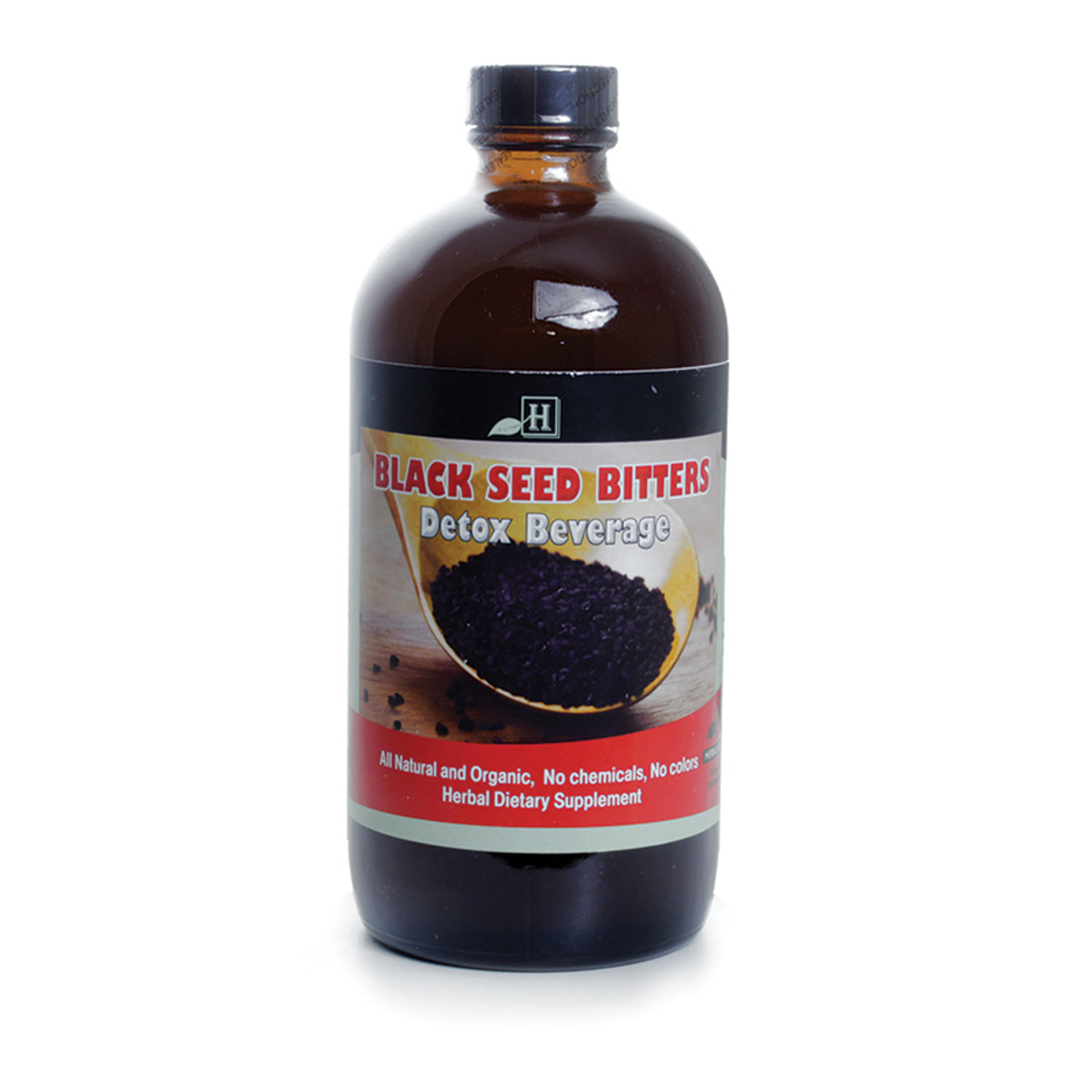 Picture of Black Seed Bitters Detox Beverage 16 oz.
