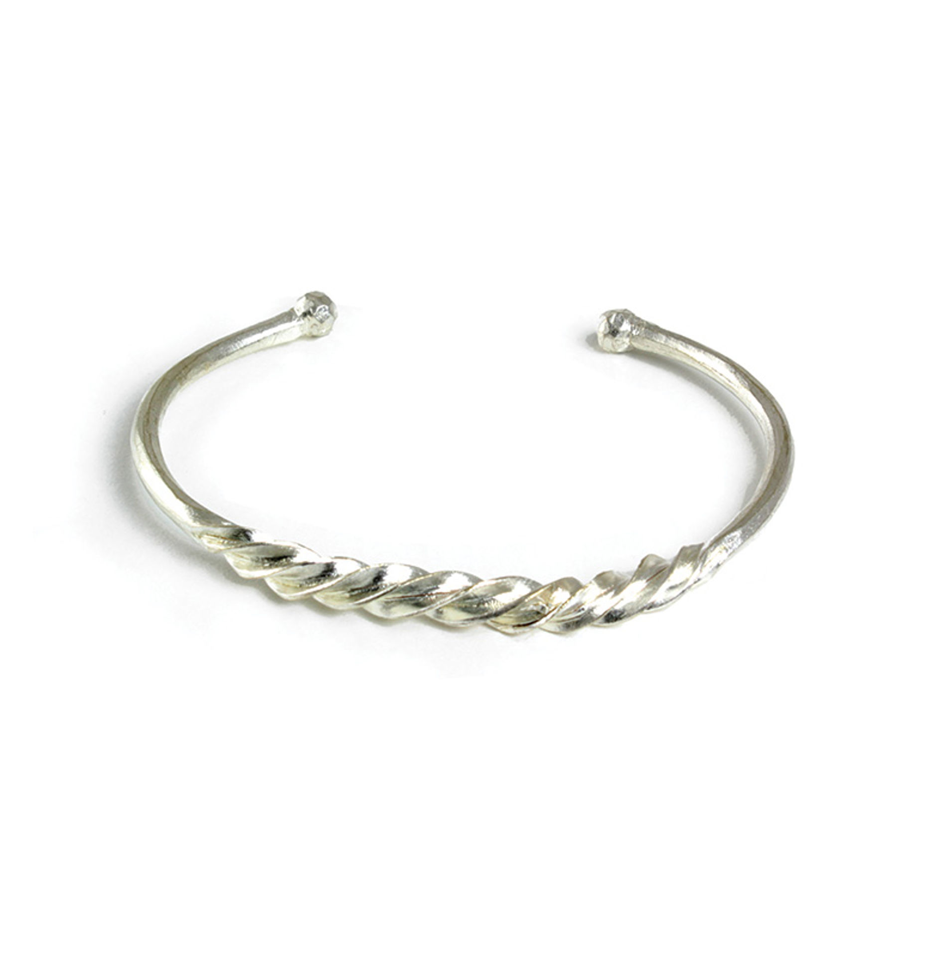 Picture of Fulani Silver Twist Bracelet