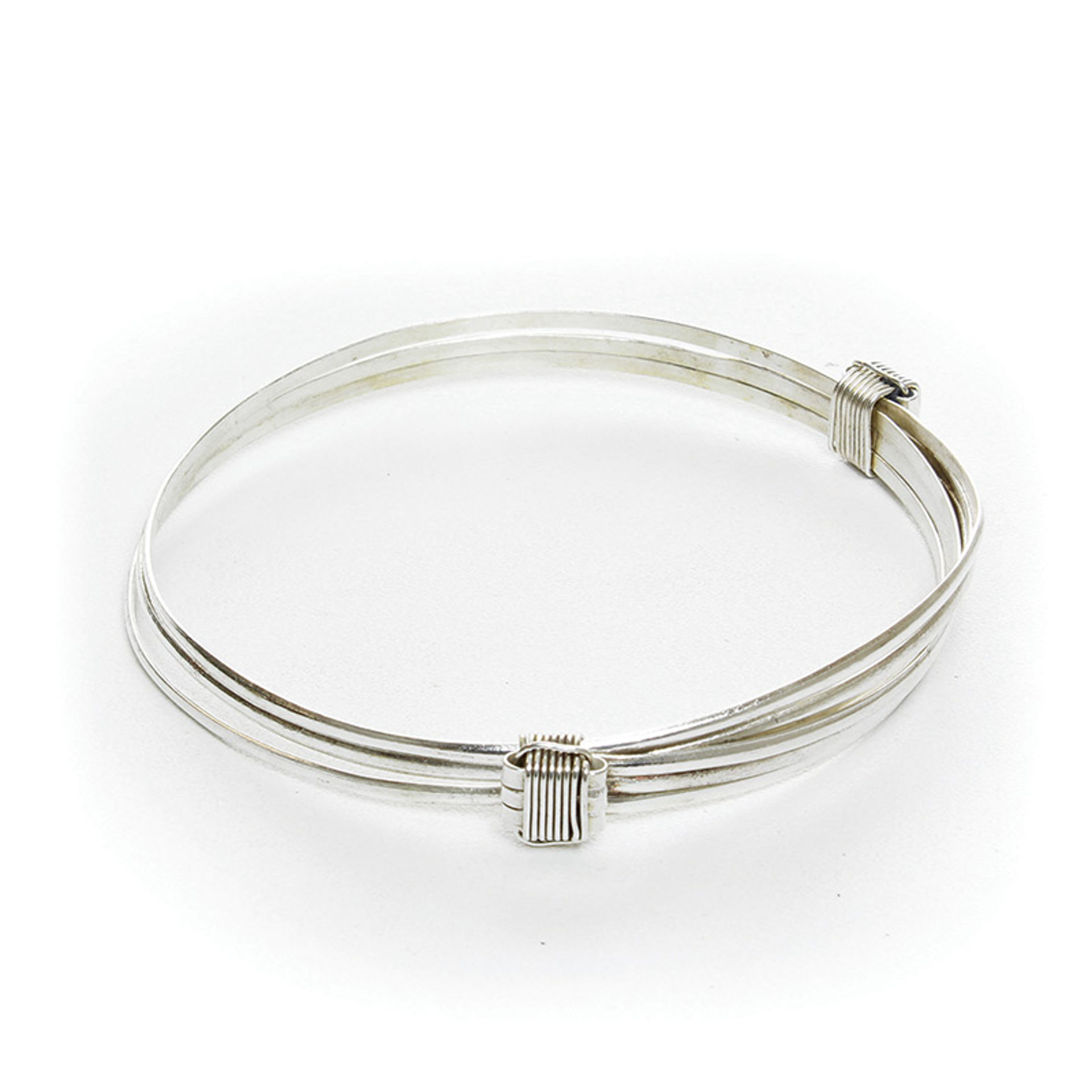 Picture of Silver Elephant Hair Bracelet