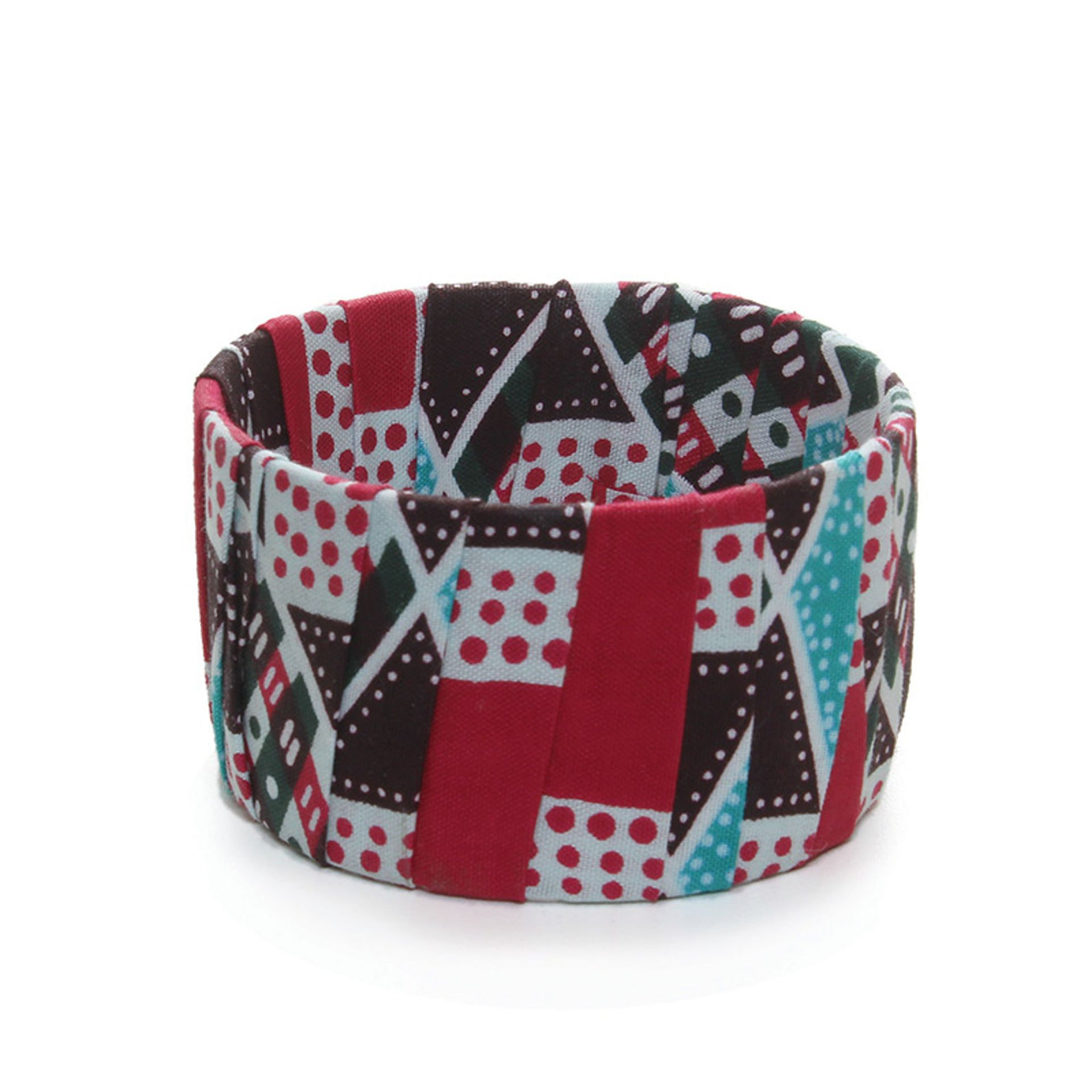 Picture of Wide Kitenge Bracelet - ASSORTED
