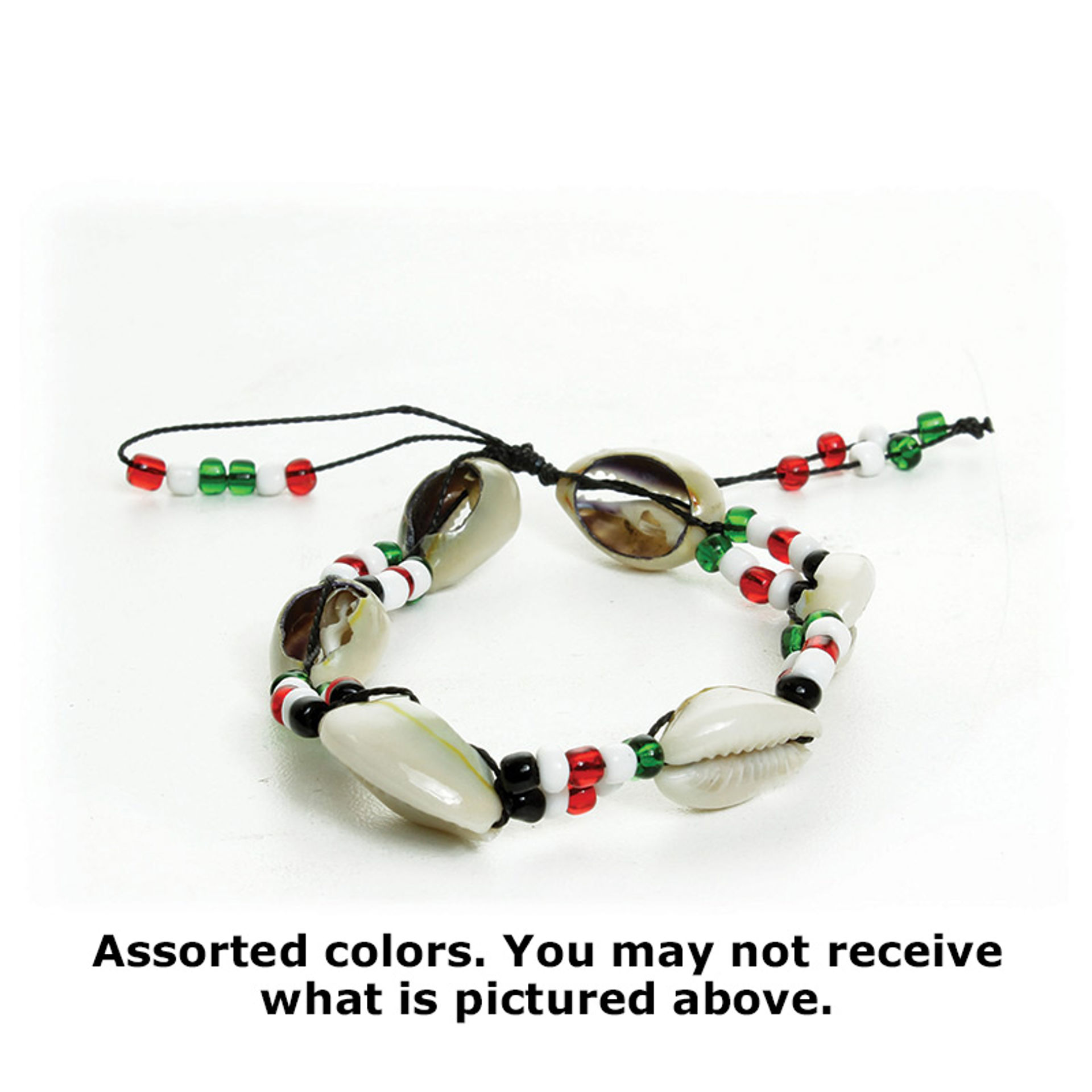 Picture of Cowrie Shell Bead Bracelet - ASSORTED