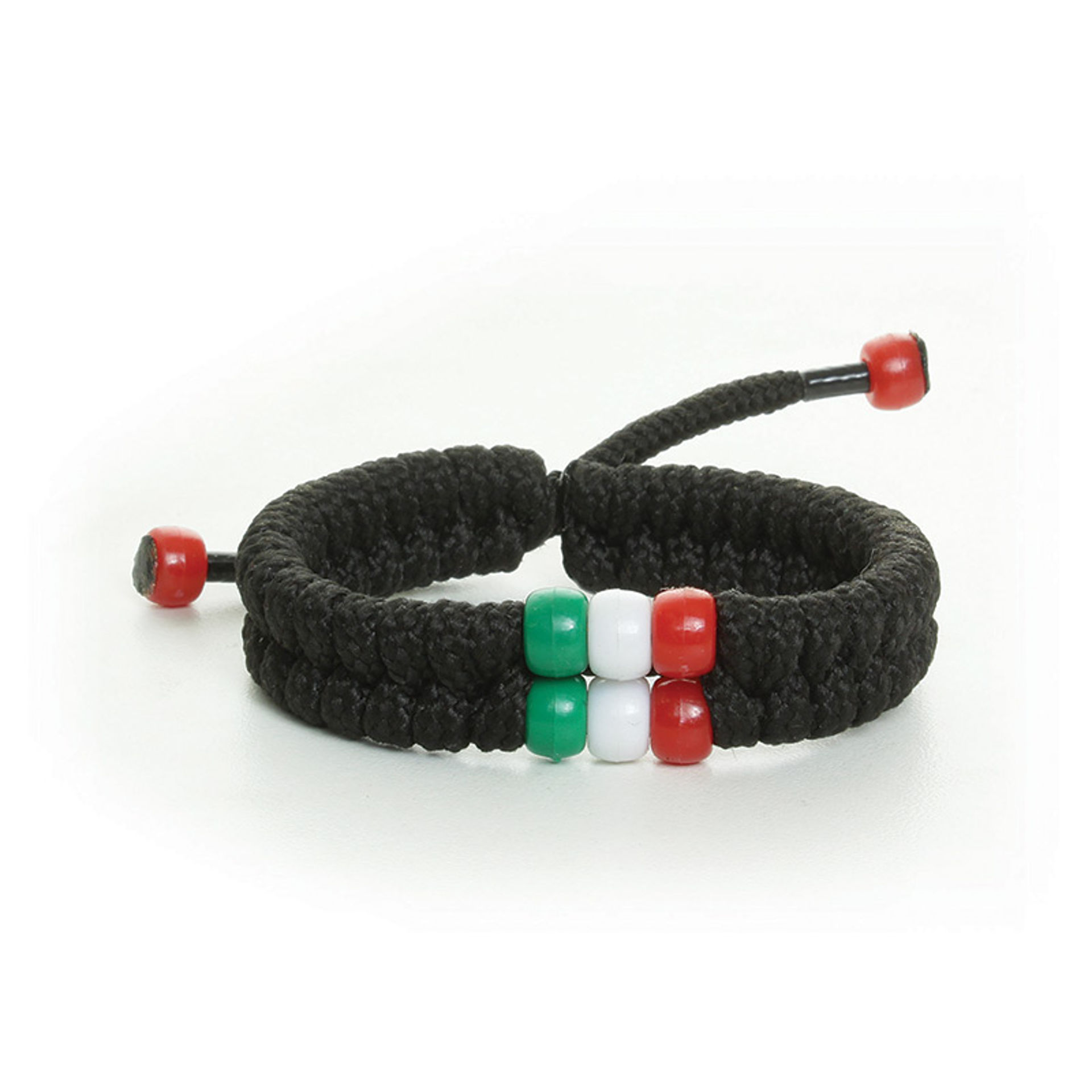 Picture of African Bead Shoelace Bracelet