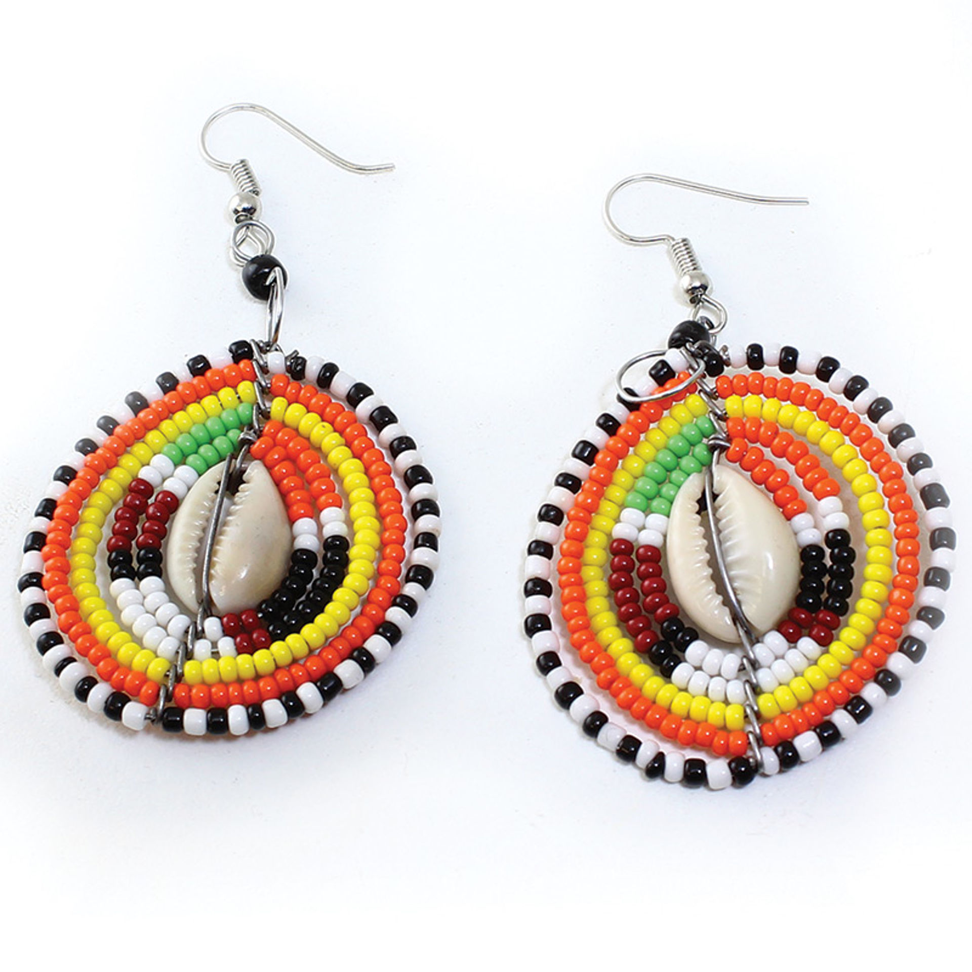 Picture of Maasai Cowrie Shell Earrings