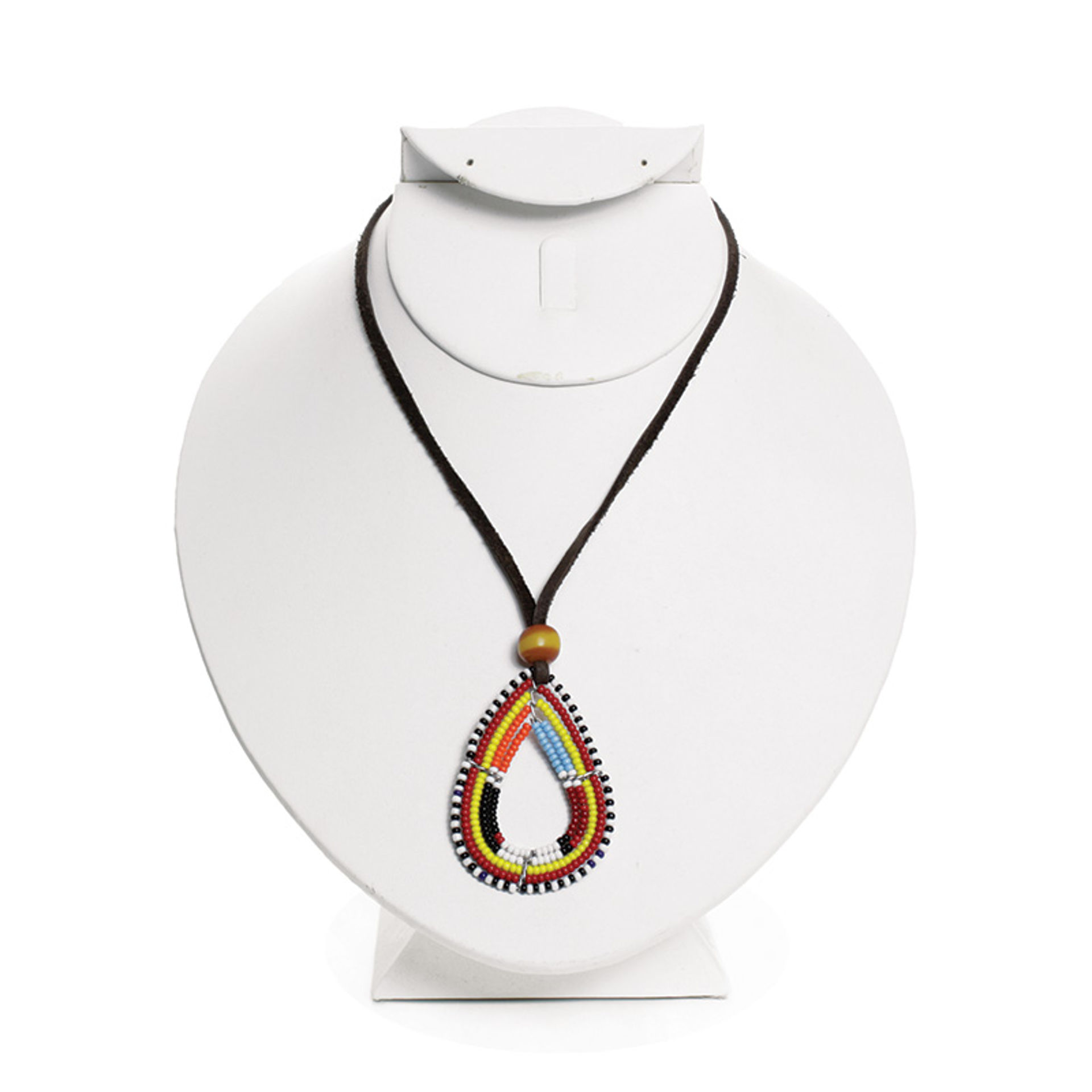 Picture of Maasai Beaded Necklace: Tear Drop