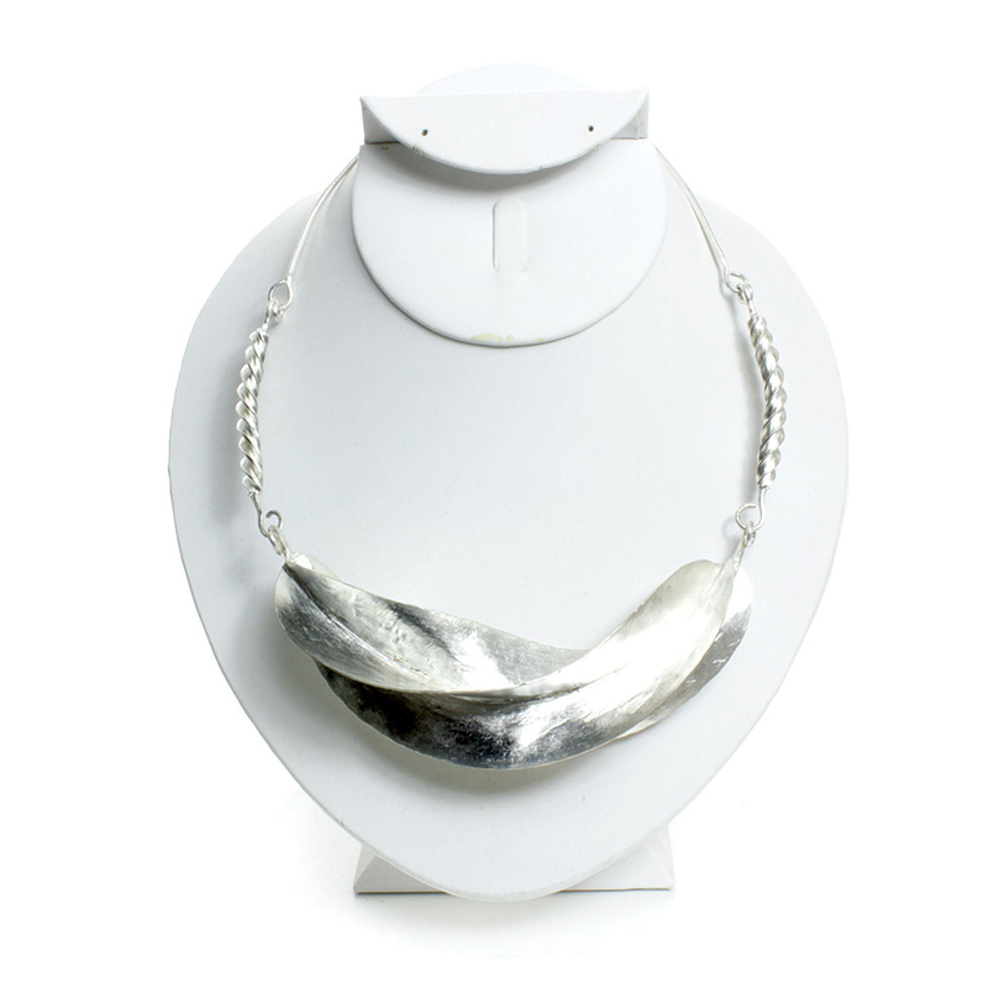 Picture of Fulani Silver Twist Necklace: XL