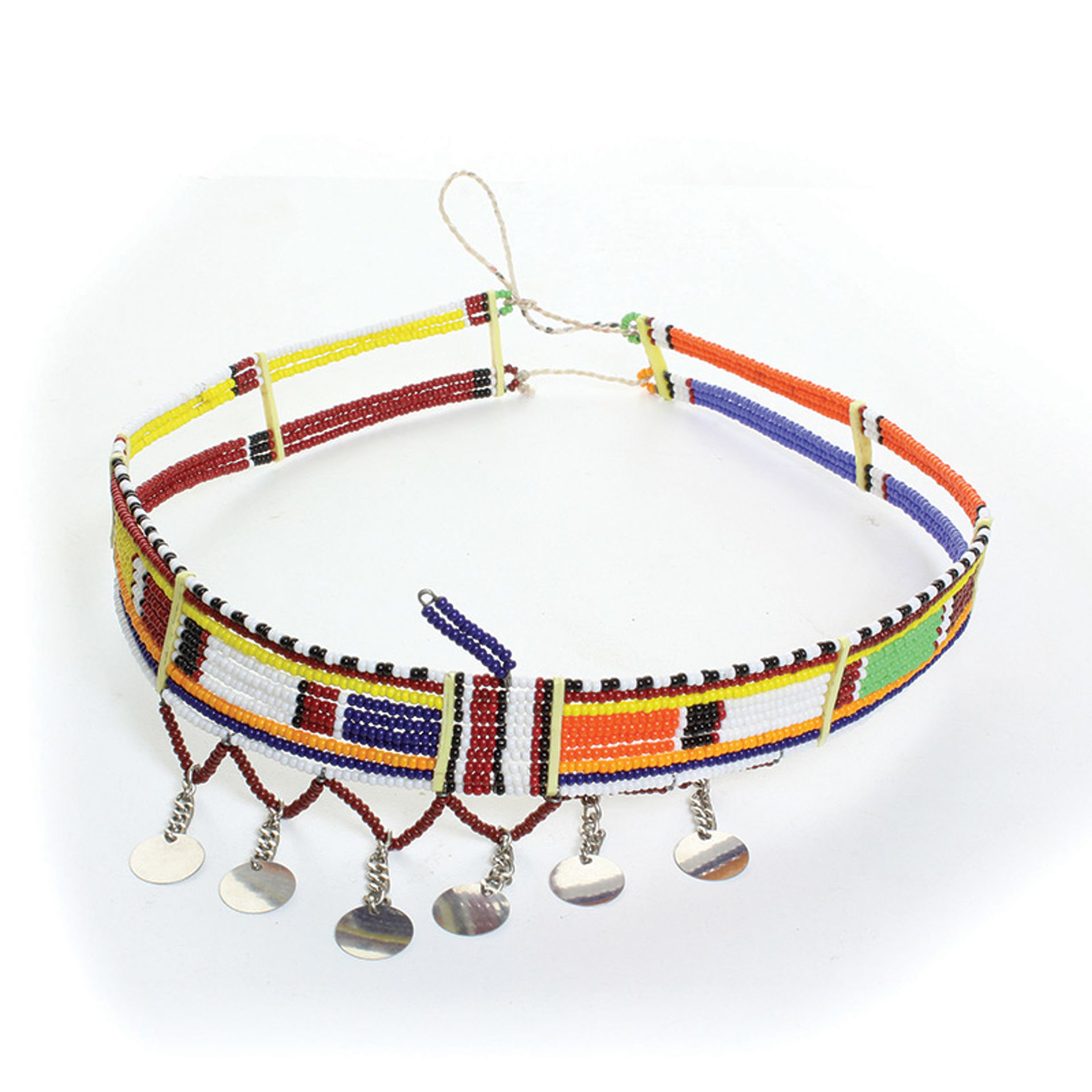 Picture of Beaded Maasai Choker w/Metal