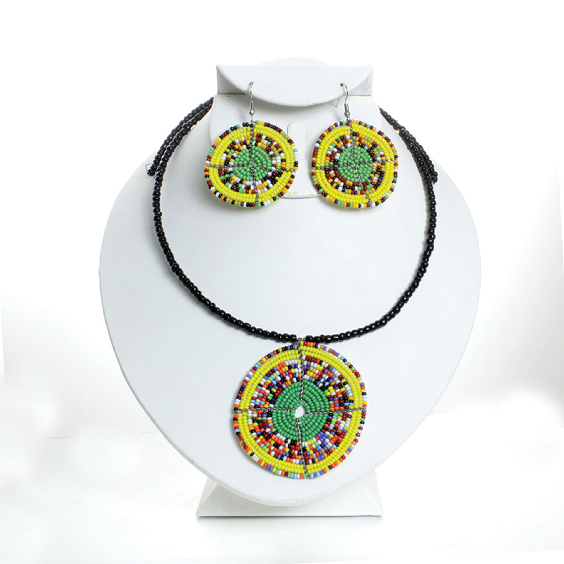 Picture of Traditional Maasai Choker & Earring Set
