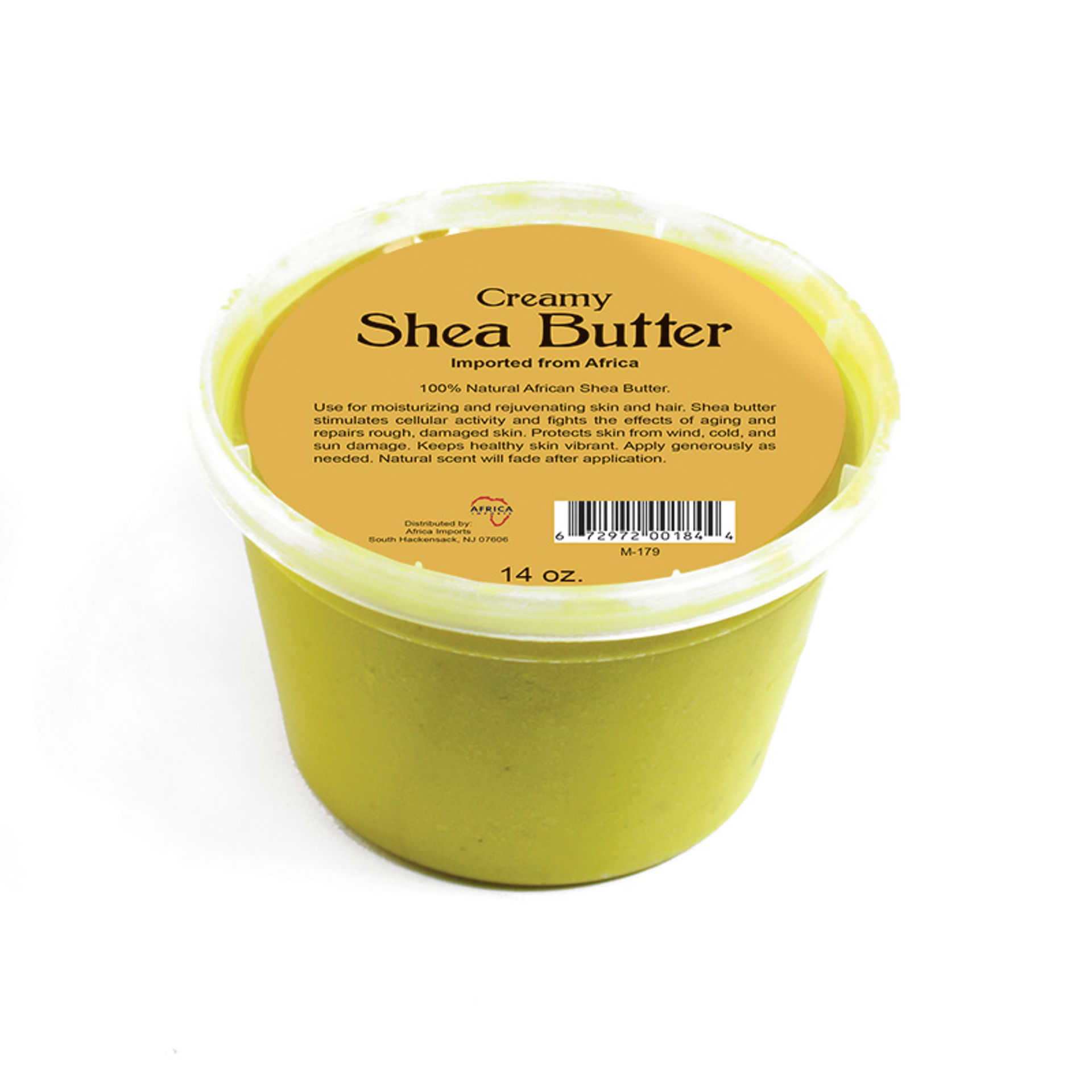 Picture of Creamy African Shea Butter: Yellow 14 oz