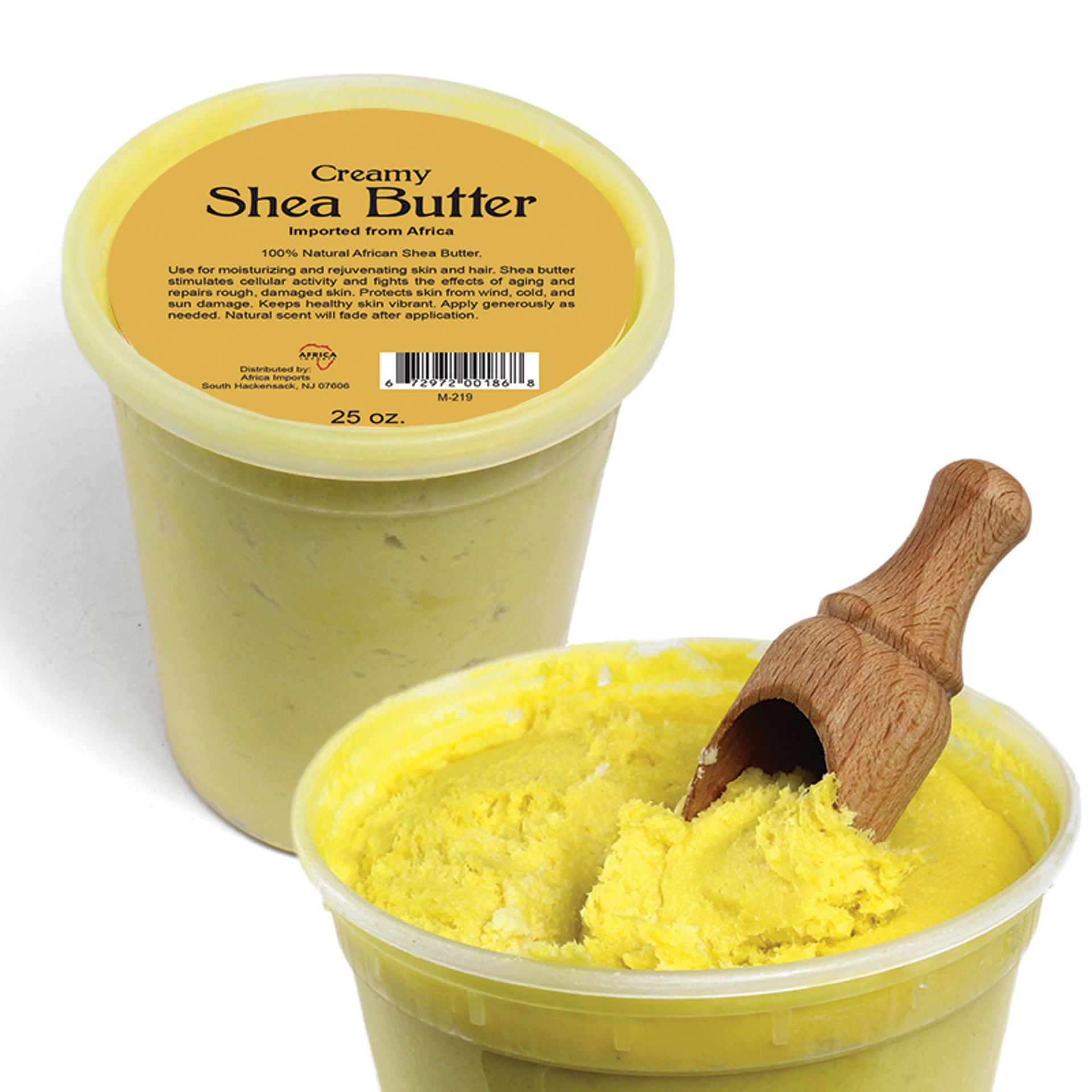 Picture of Creamy African Shea Butter: Yellow 25 oz
