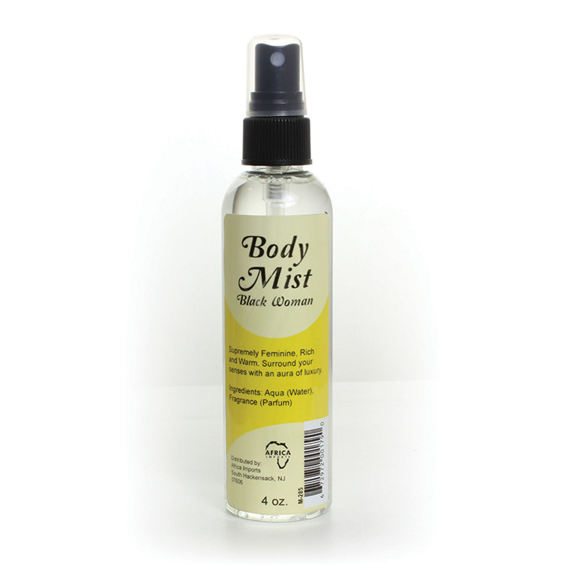 Picture of Black Woman Body Mist - 4 oz.