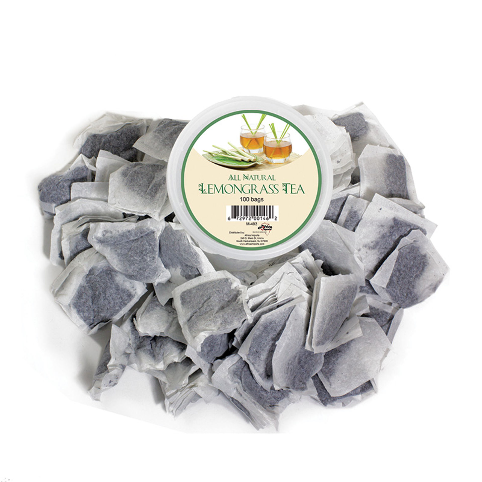Picture of Asian Lemongrass Medicinal Tea: 100 Bags
