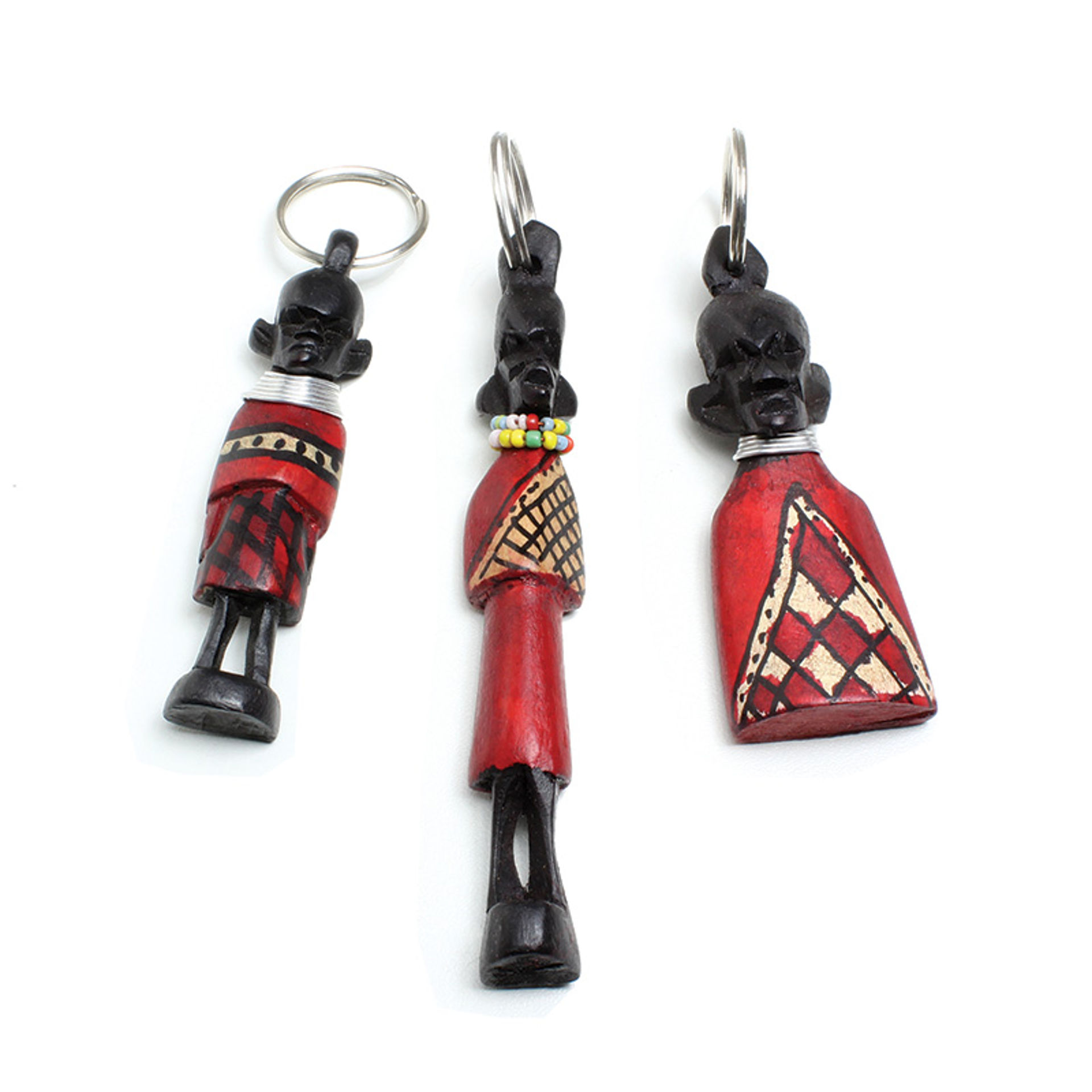 Picture of Maasai Idol Key Chain