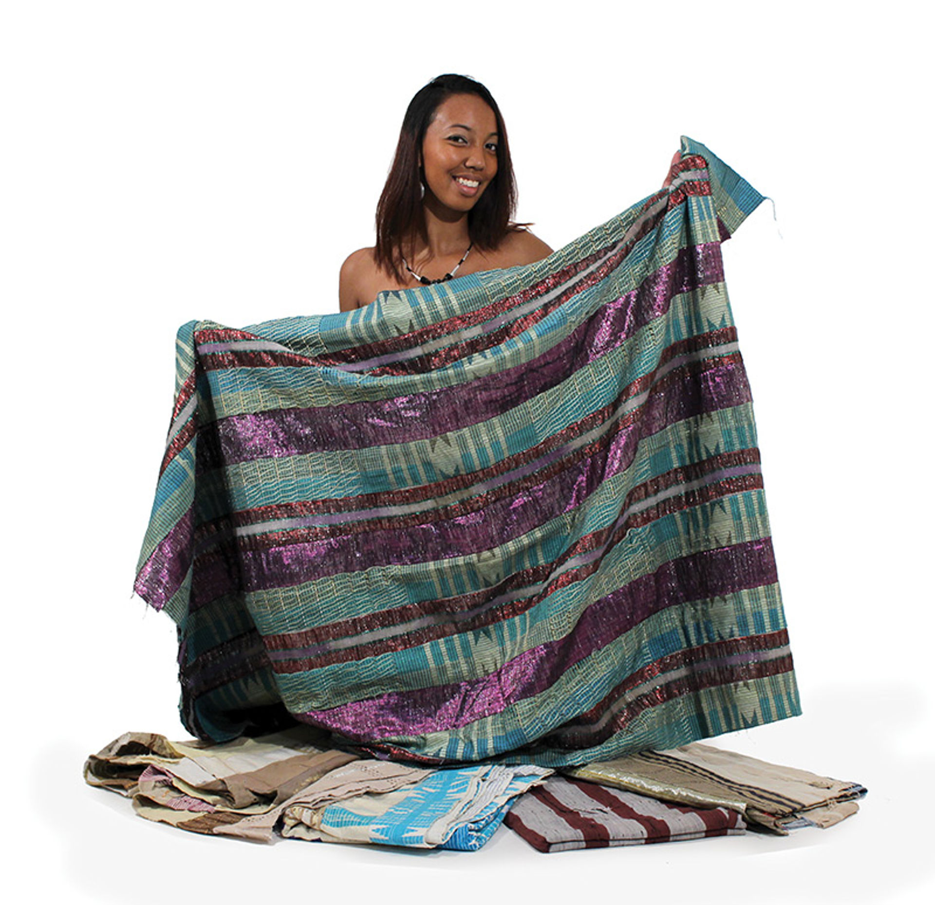 Picture of Hand Woven Nigerian Asoke Fabric
