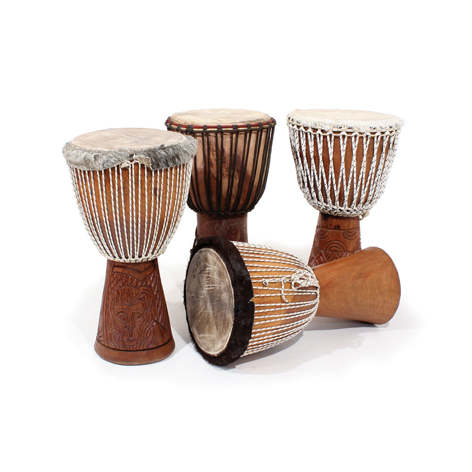 Djembe Drum Full Size, various types
