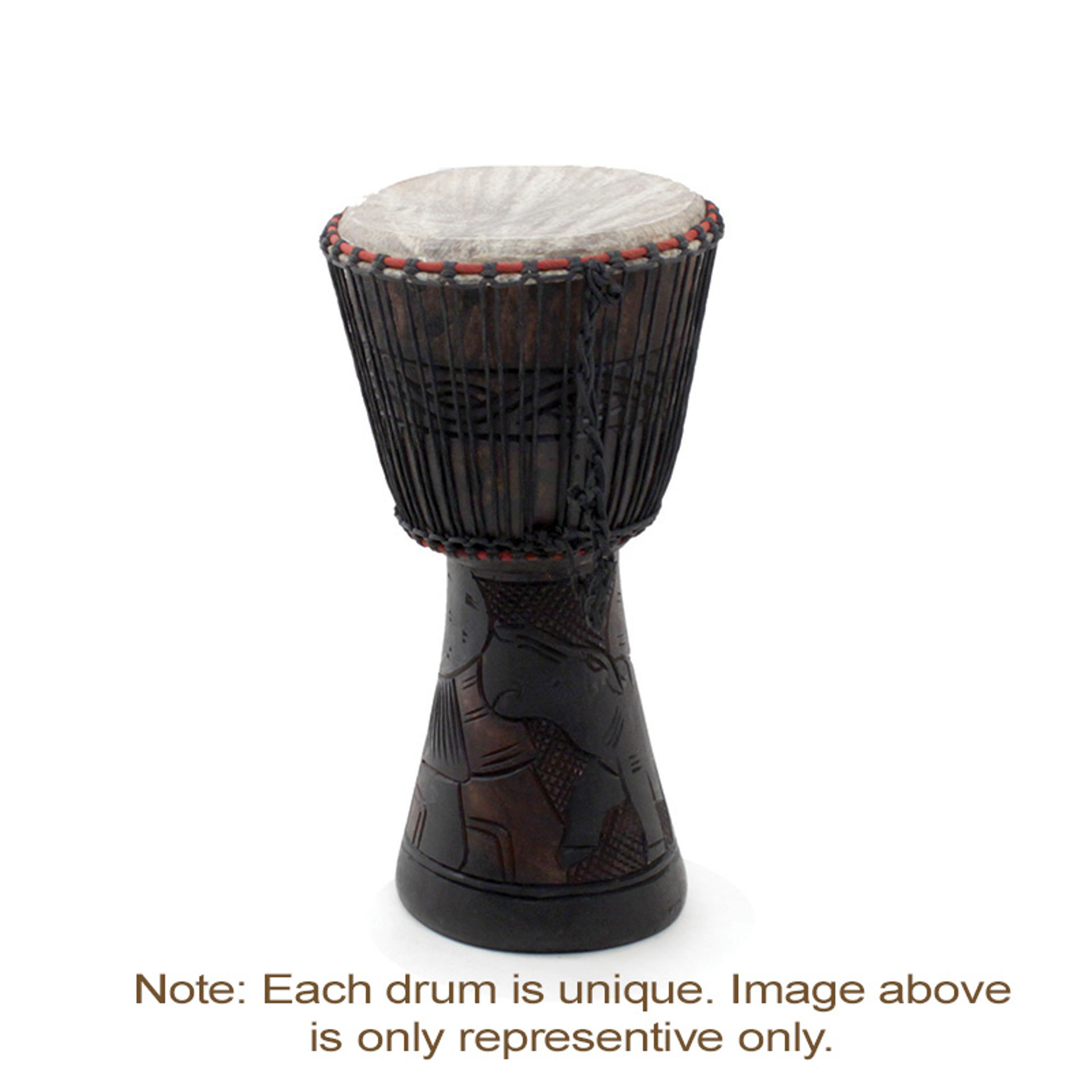 "Picture of D'Jembe Drum: Medium/Large 19""-21"""
