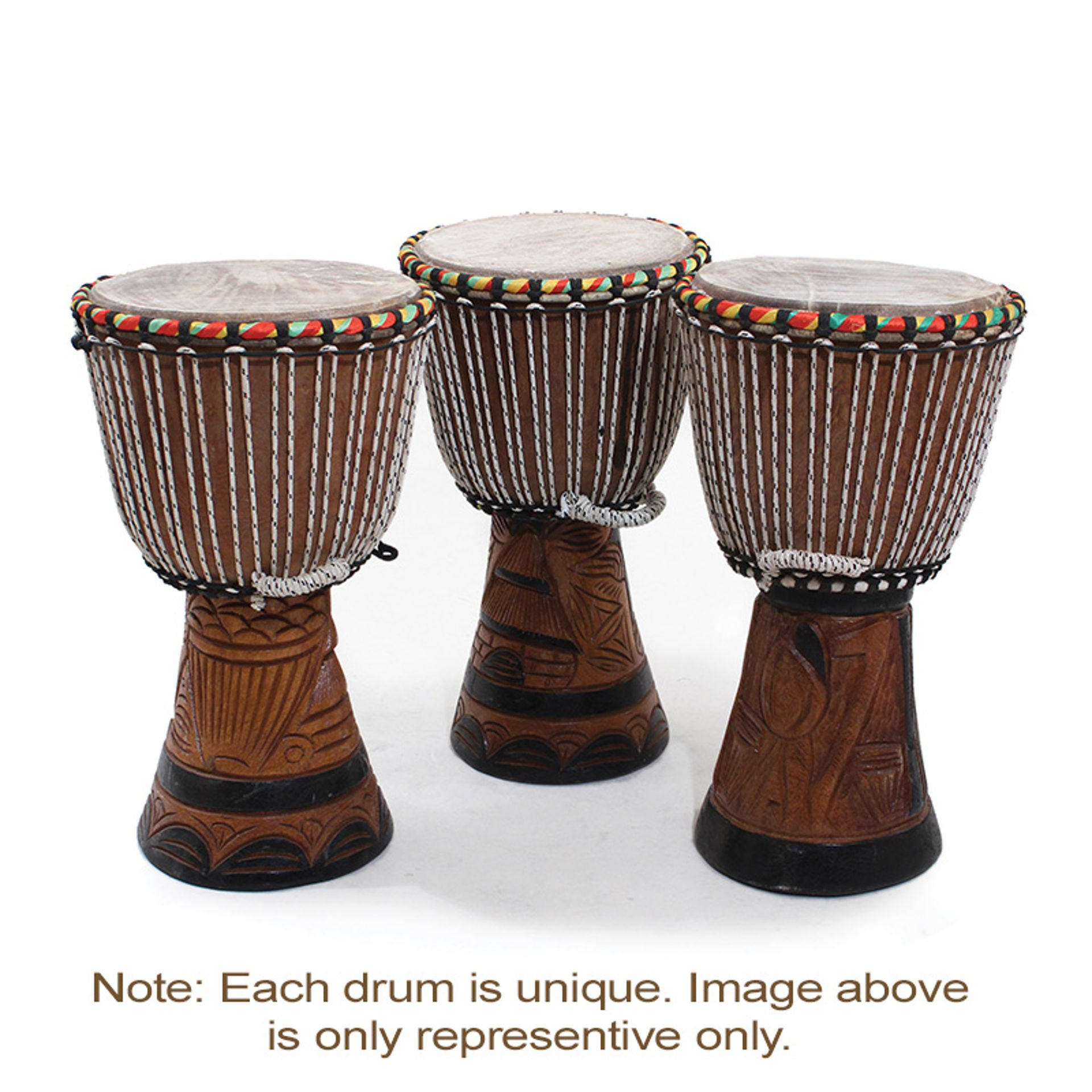 Picture of D'Jembe Drum: Medium 16-18""