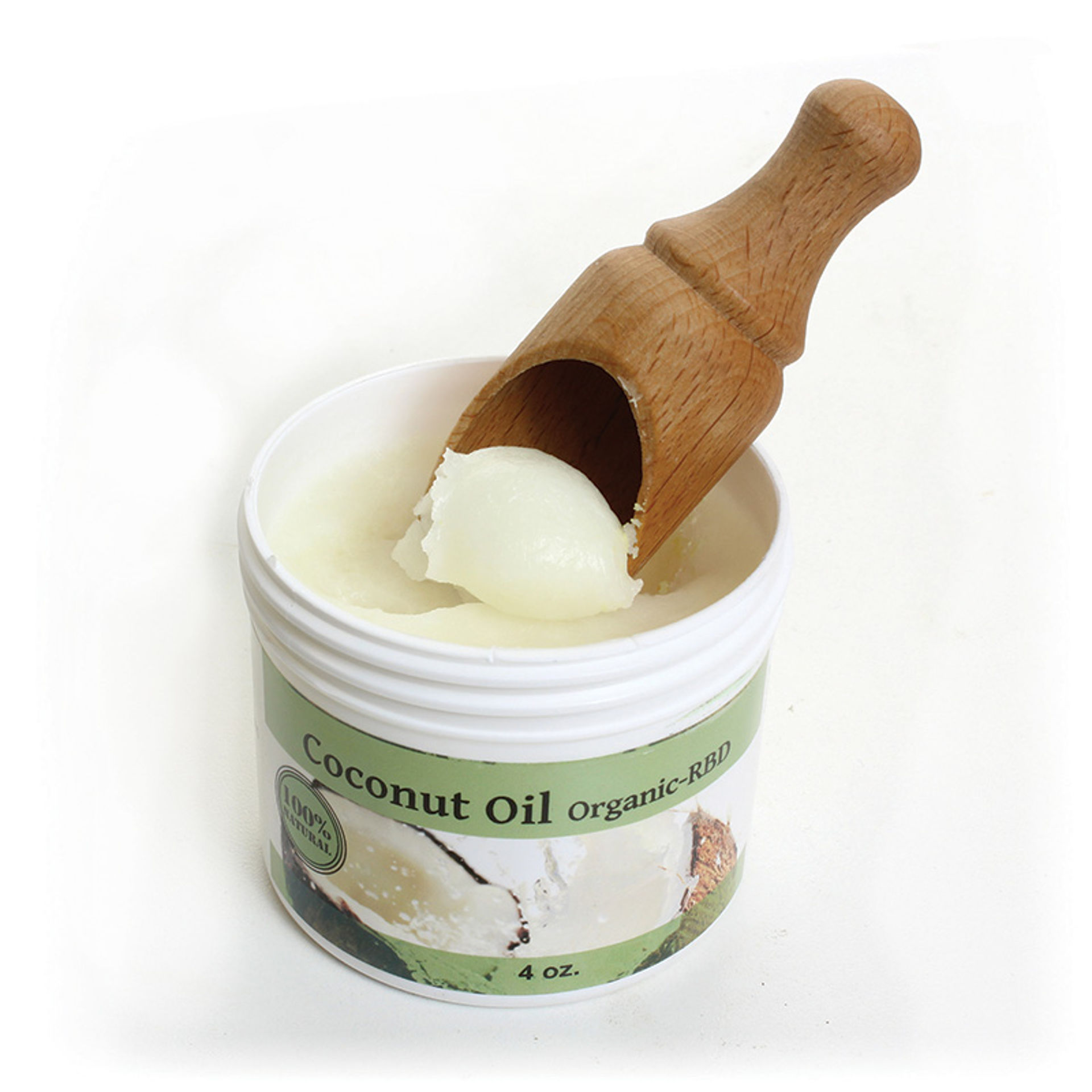 Picture of Organic Coconut Oil RBD - 4 oz.