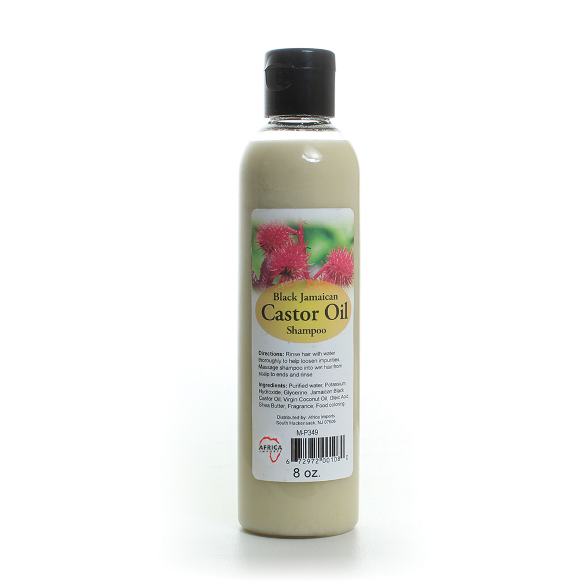 Picture of Black Jamaican Castor Oil Shampoo 8 oz.