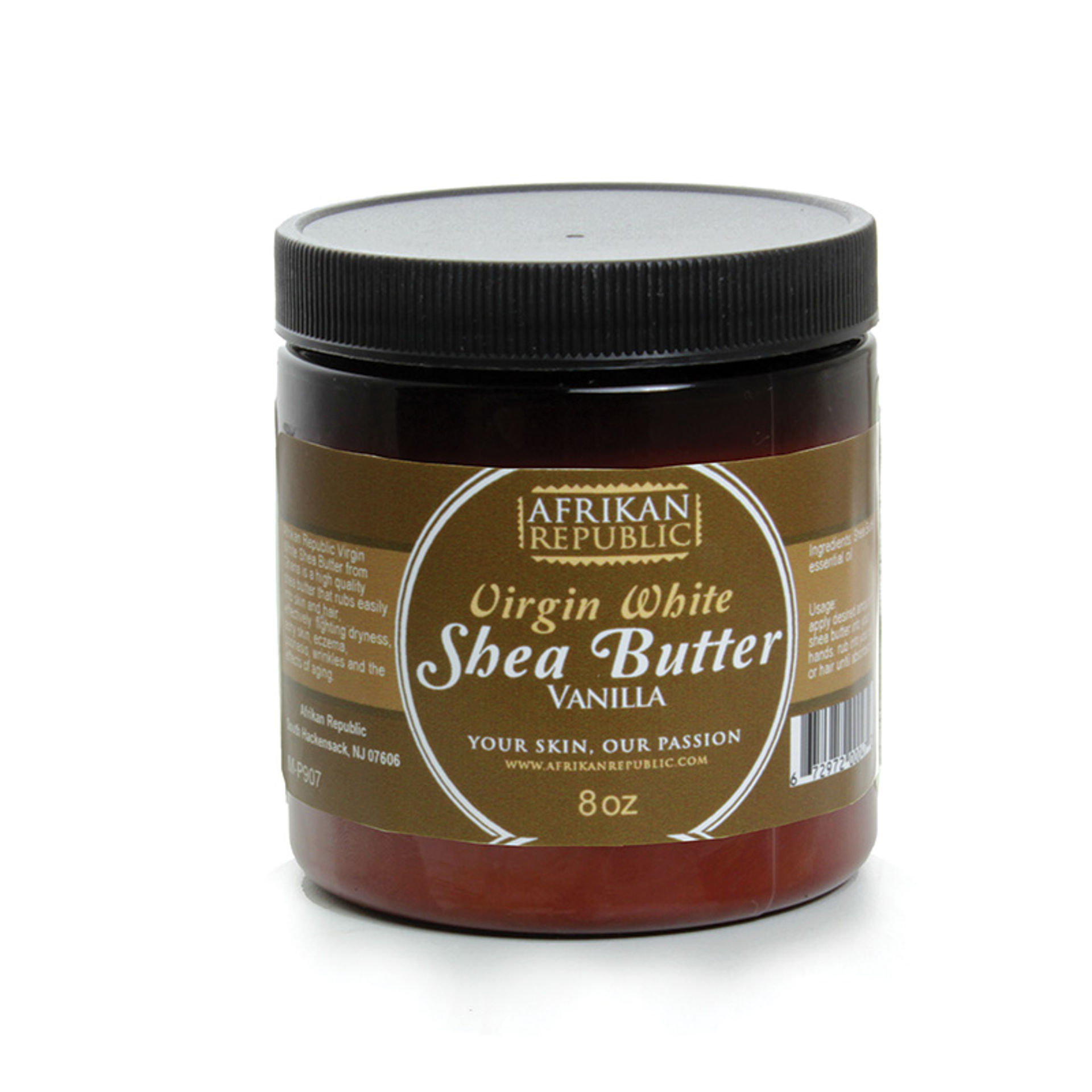 Picture of Virgin White Shea Butter: Vanilla