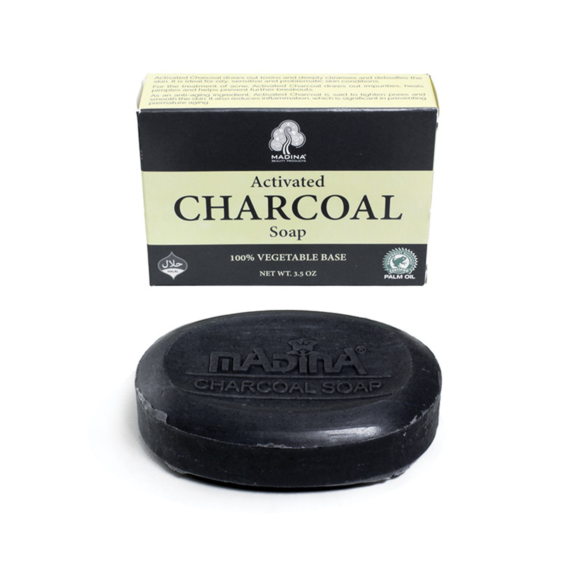 Picture of Activated Charcoal Soap - 3½ oz.