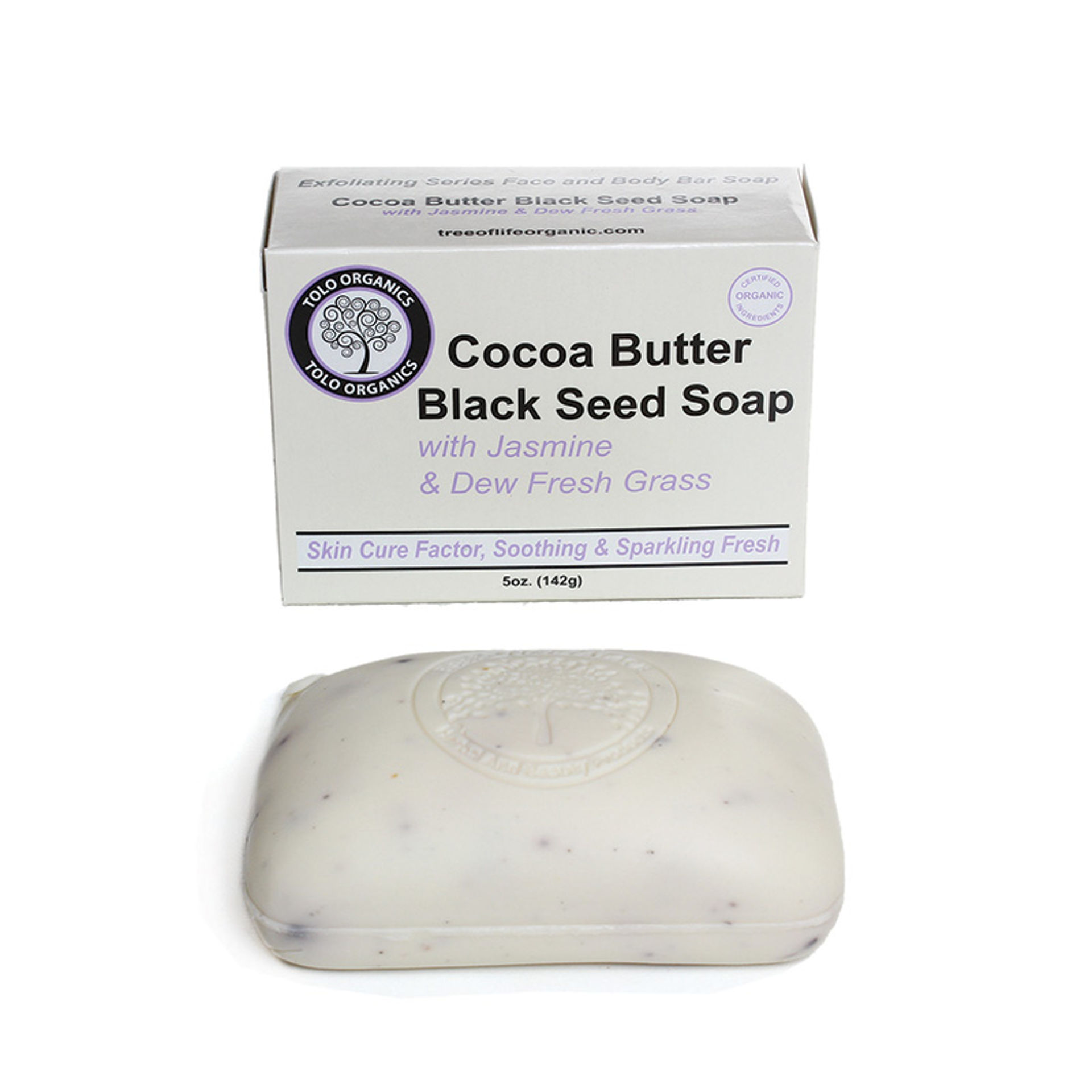 Picture of Cocoa Butter & Black Seed Soap: 5 oz.