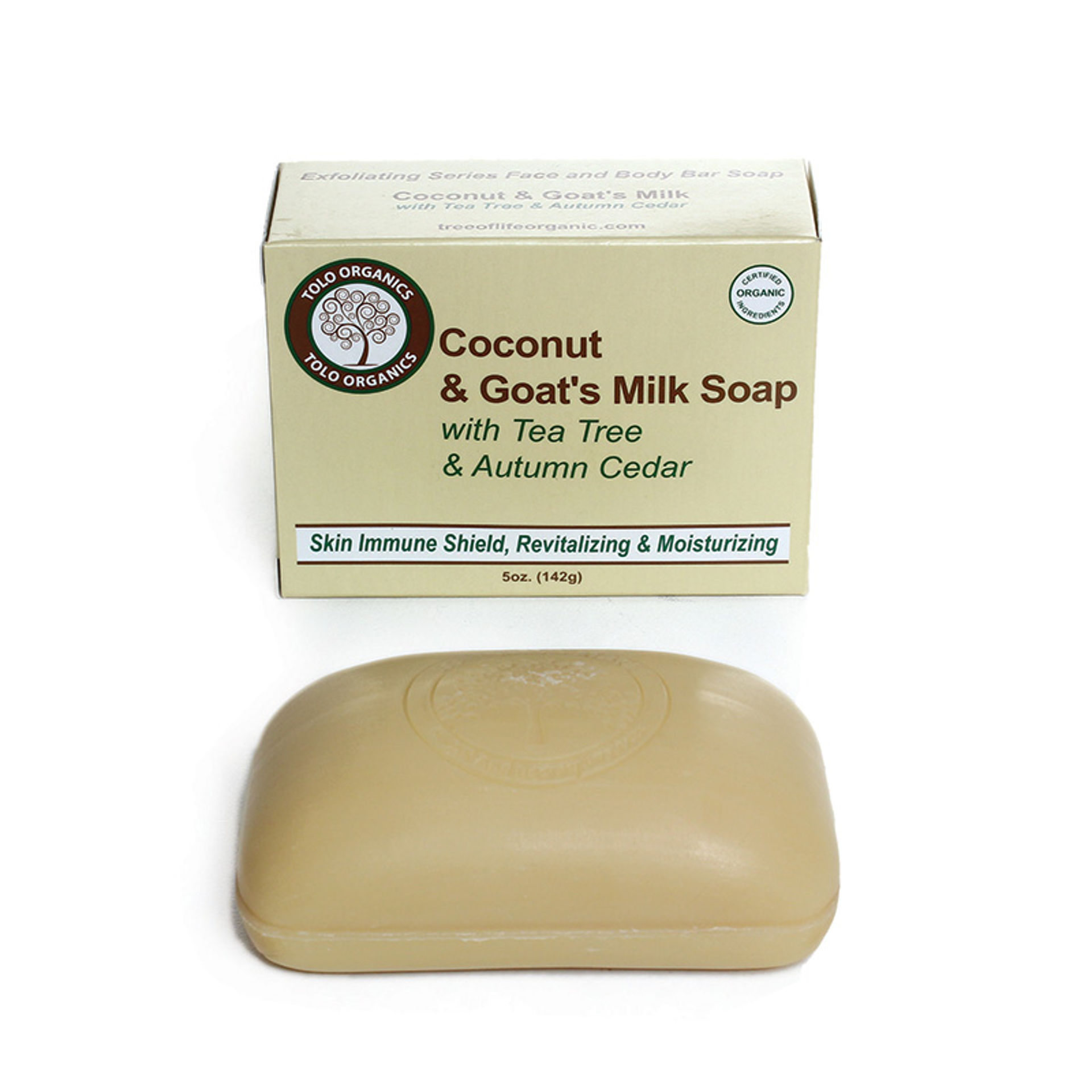 Picture of Coconut & Goat's Milk Soap: 5 oz.