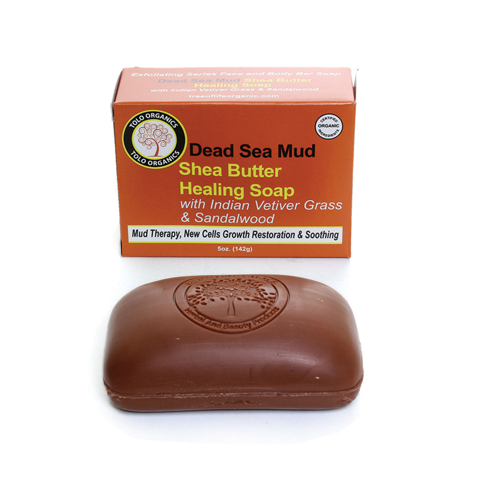 Picture of Dead Sea Mud Shea Butter Soap: 5 oz.