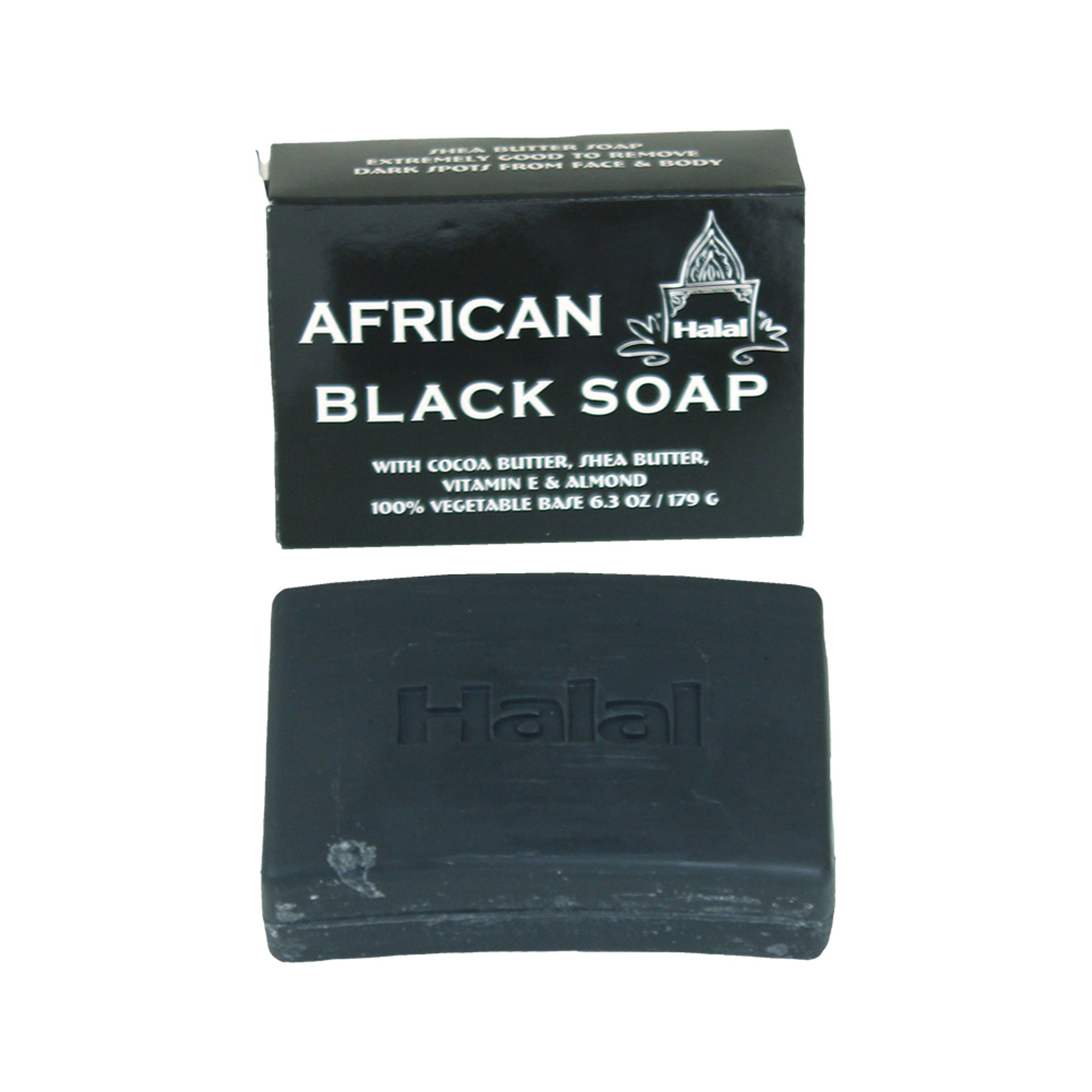 Picture of Black Soap & Shea Butter Soap - 6.3 oz.
