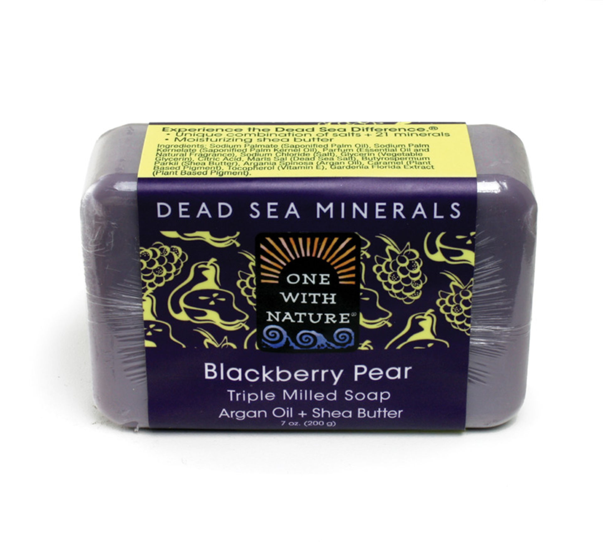 Picture of Blackberry Pear Shea/Argan Soap - 7 oz.
