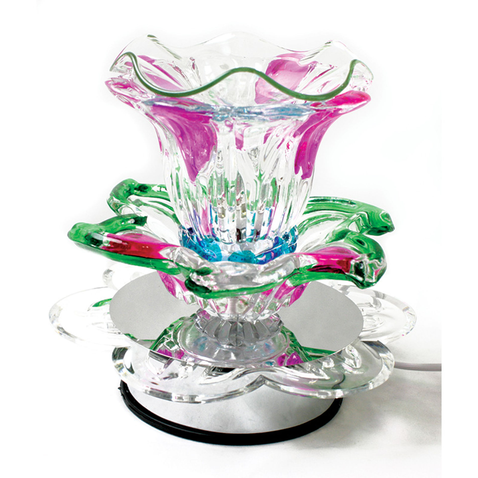 Picture of Electric Touch Lamp Oil Burner: Lily