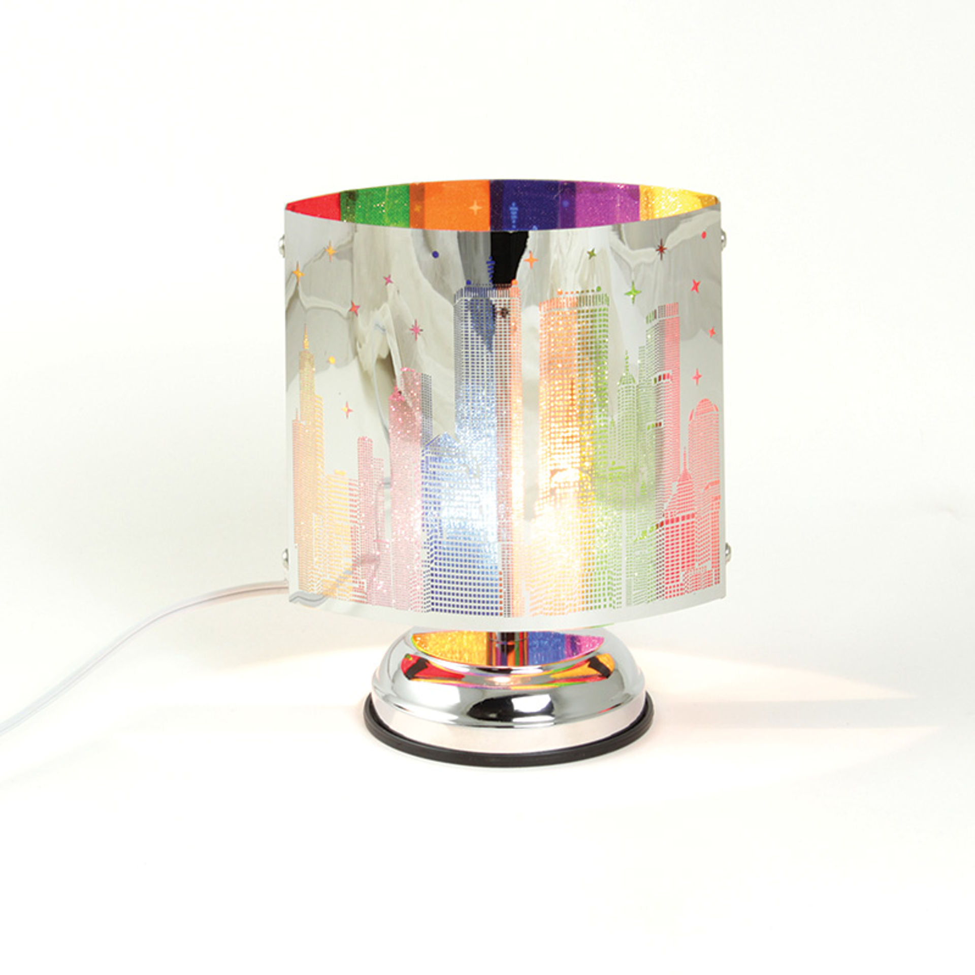 Picture of Electric City Lights Oil Burner