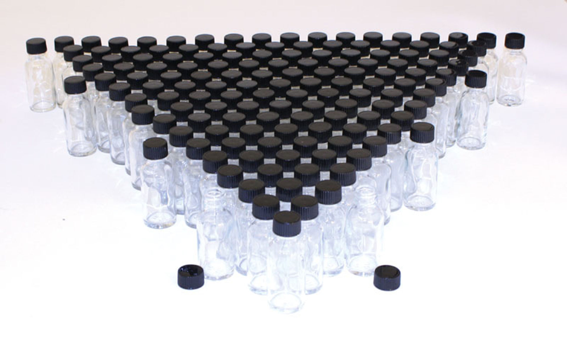Picture of 1 oz. Glass Bottles - Set Of 144