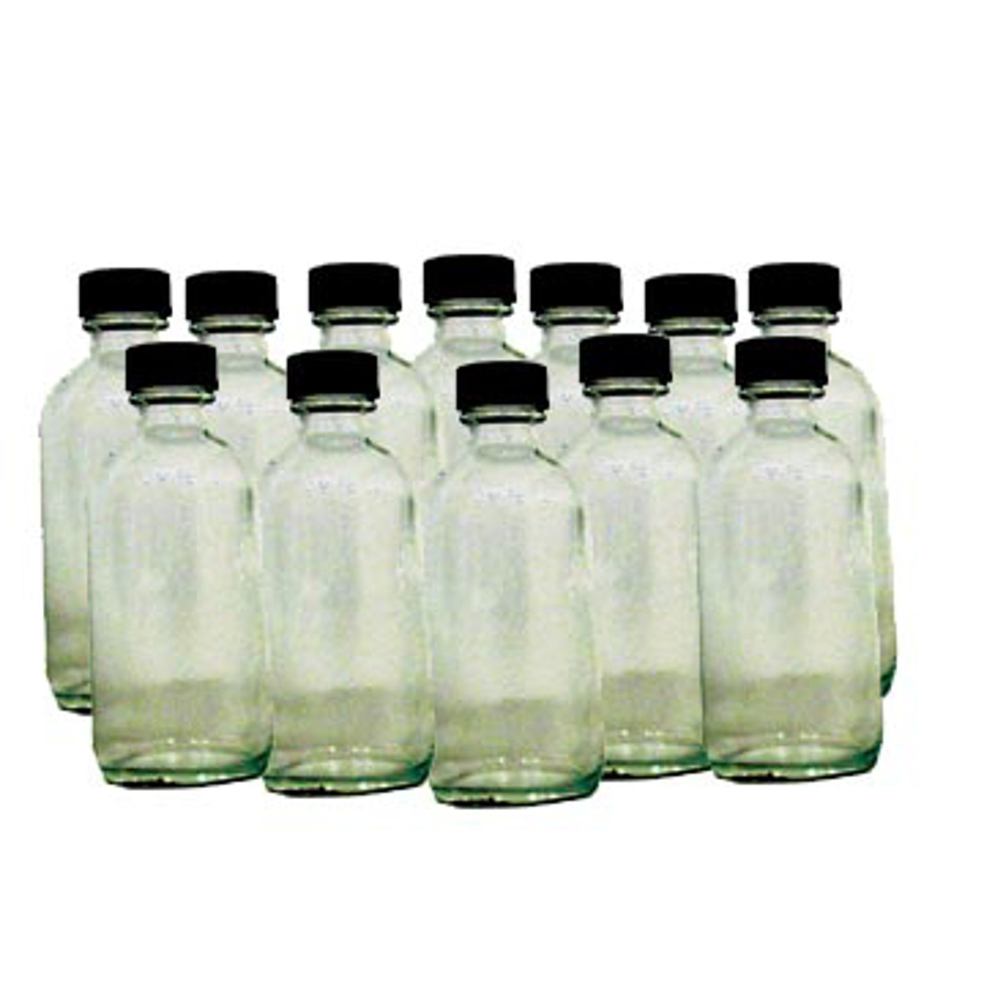 Picture of Case 4 oz. Boston Round Bottles - 128