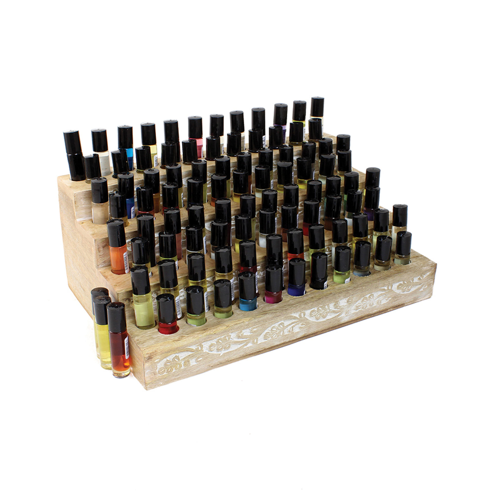 Picture of Set Of 96 Oils + Wooden Display