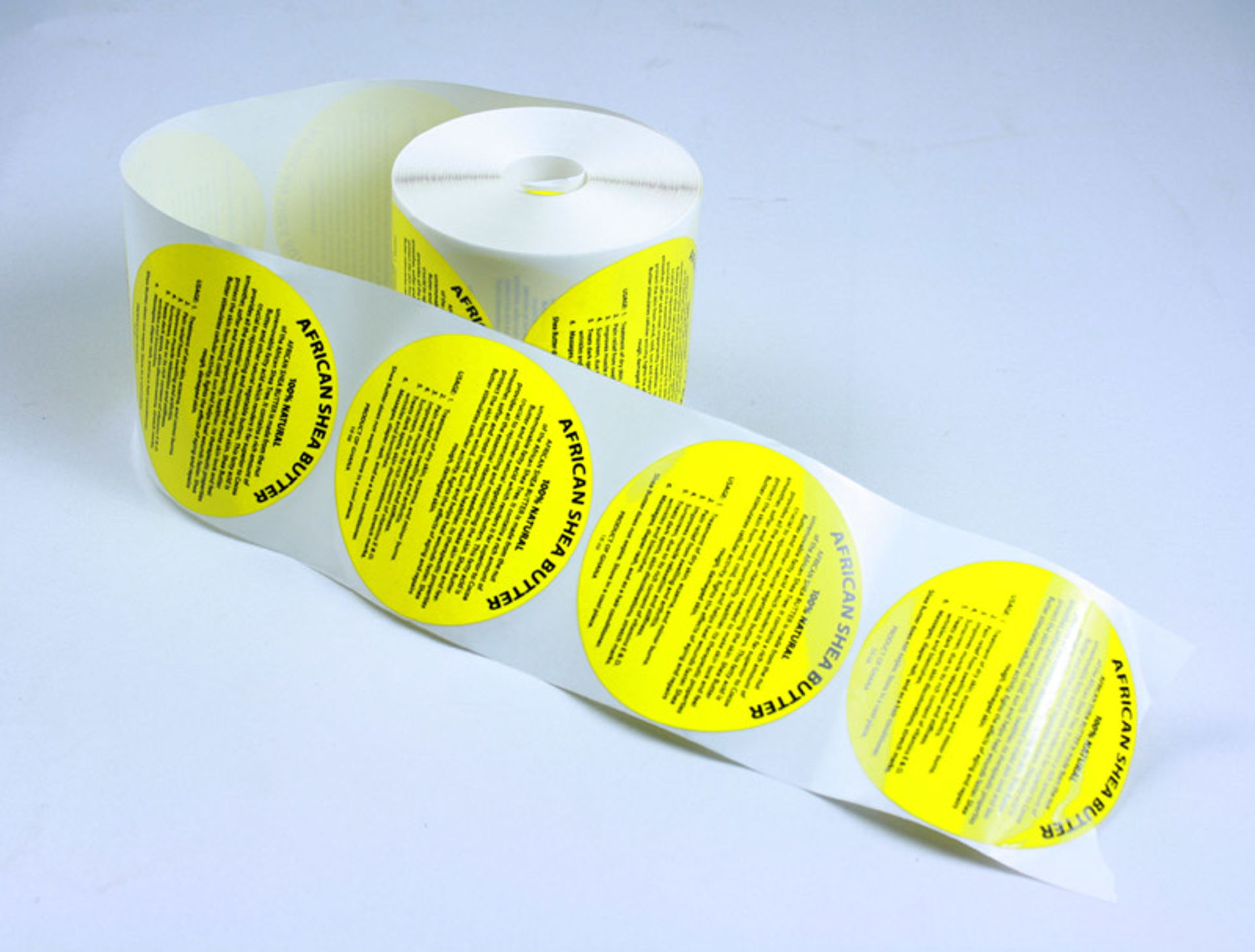 Picture of 12 oz. Shea Butter Labels: Set Of 500