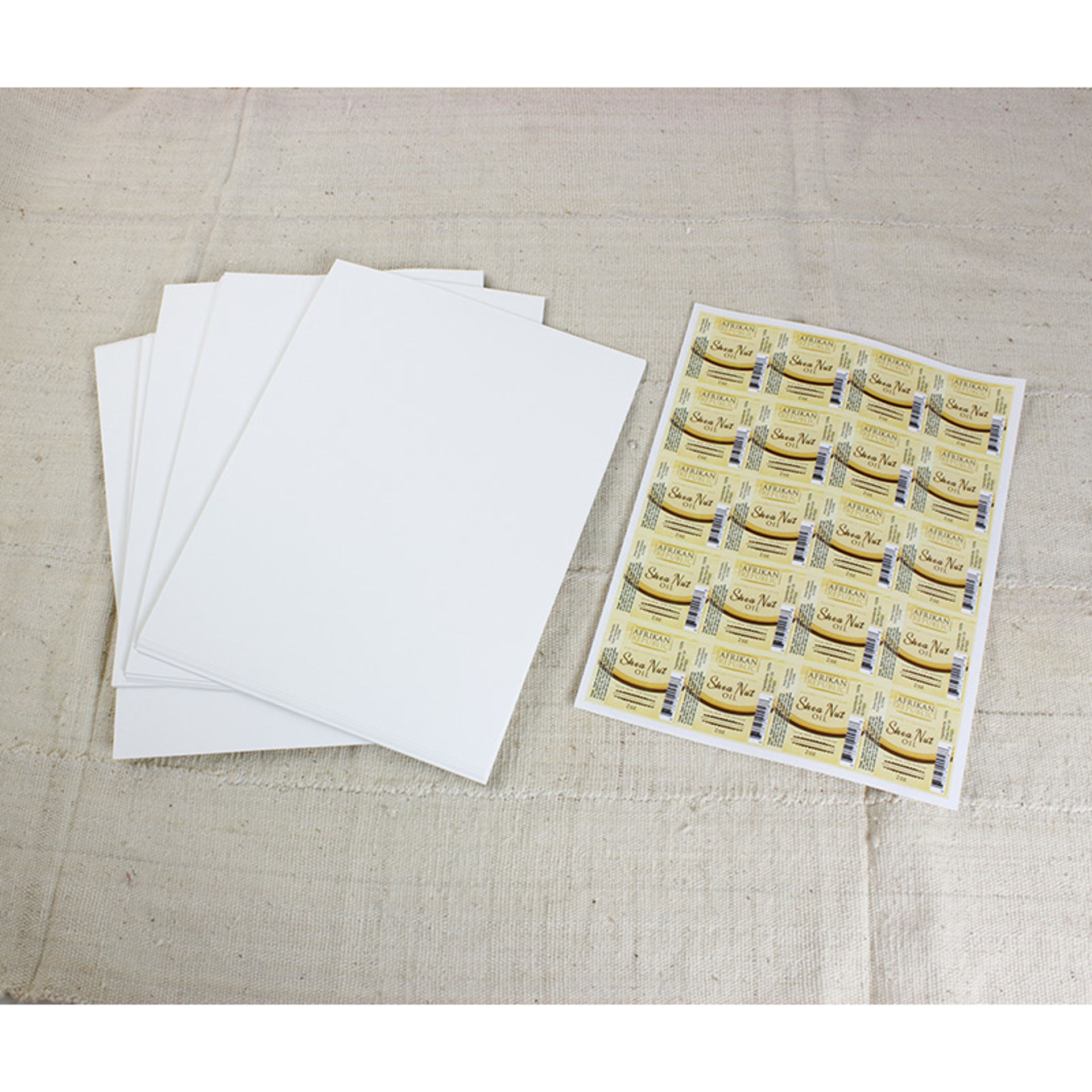 Picture of 100 2x2 Glossy Square Labels
