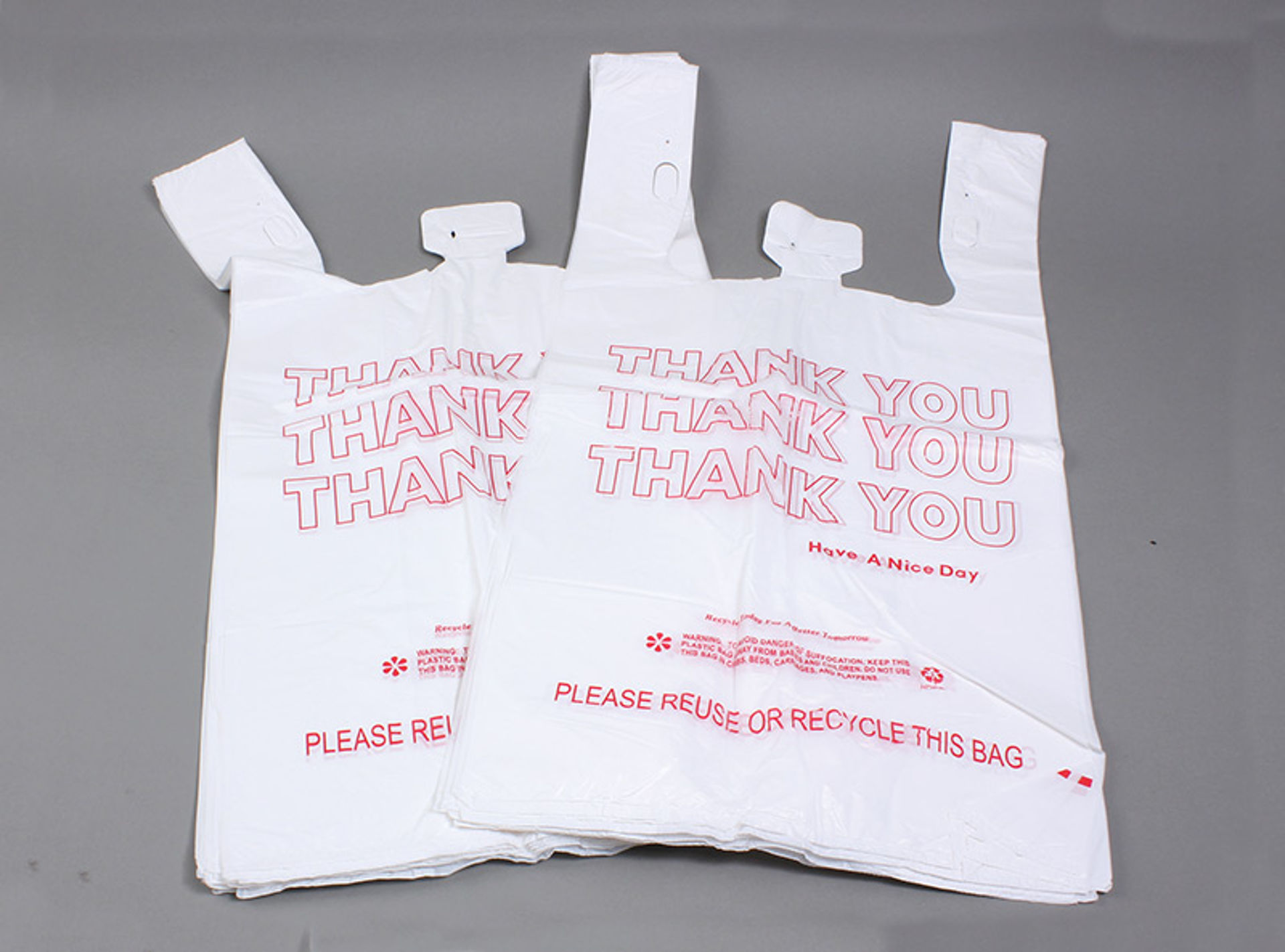 """Picture of 1000 High Quality """"Thank You"""" Bags 15in."""