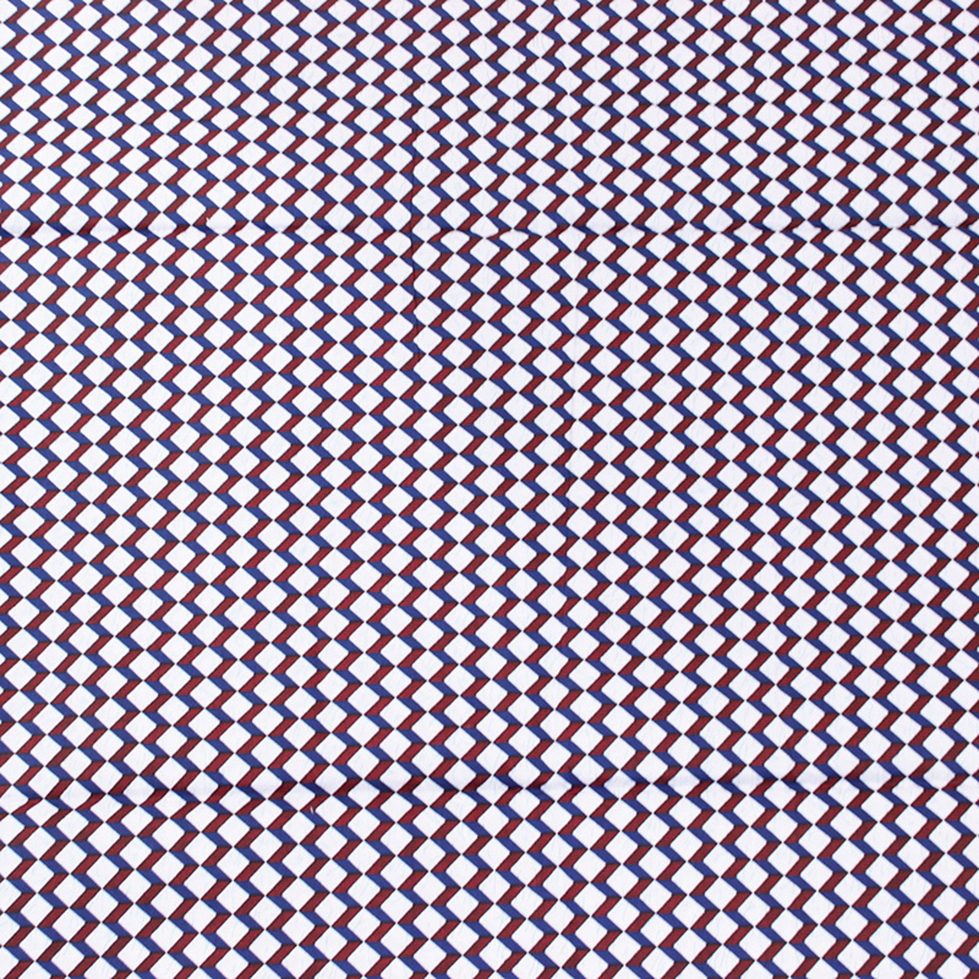 Picture of White Block Print Fabric