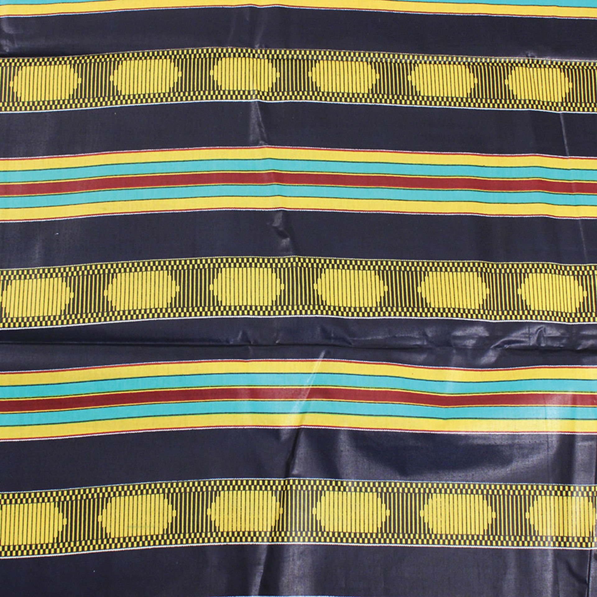 Picture of Economy Fabric: Kente #4 BLUE - 12 Yds