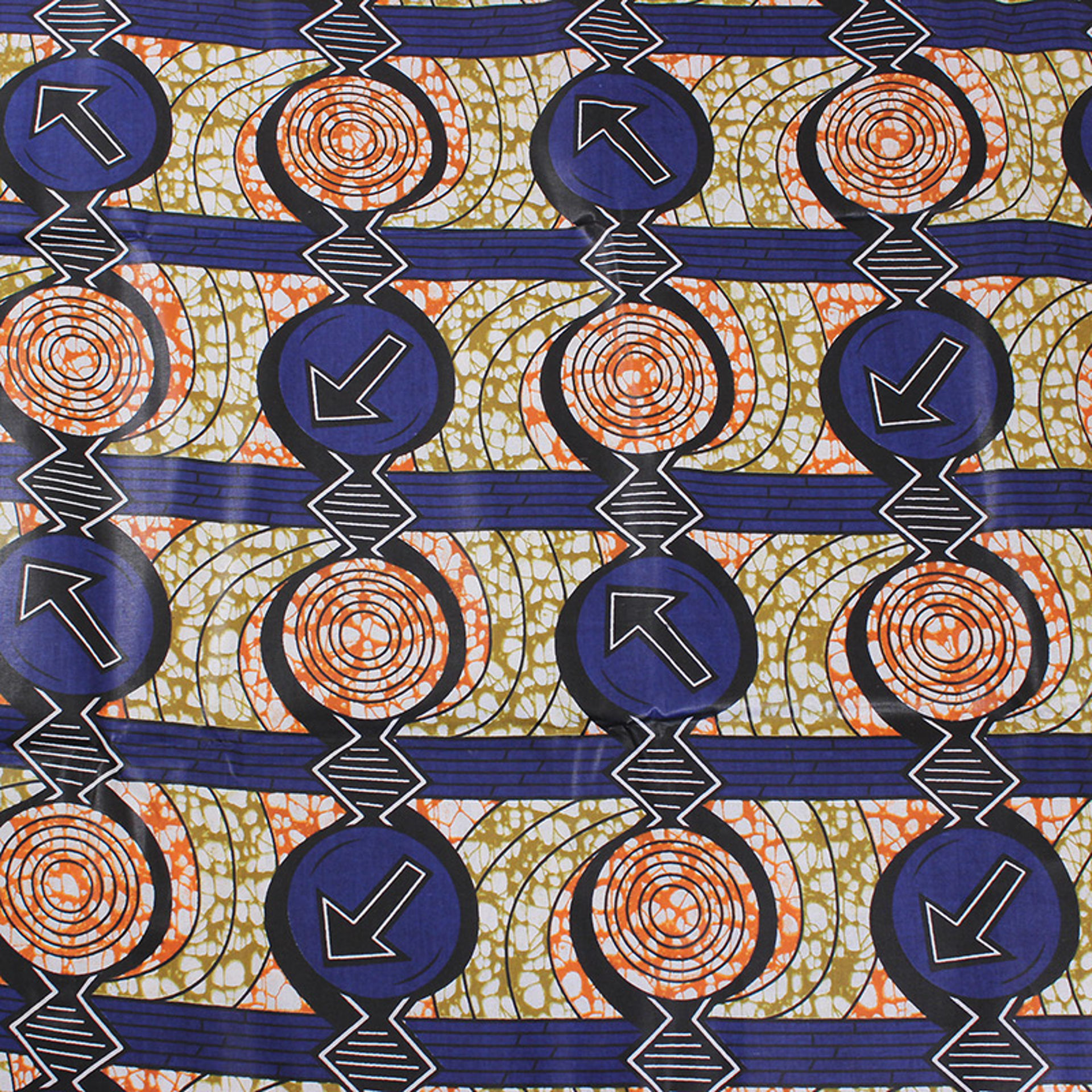 Picture of Economy Fabric: Blue Arrow - 12 Yds